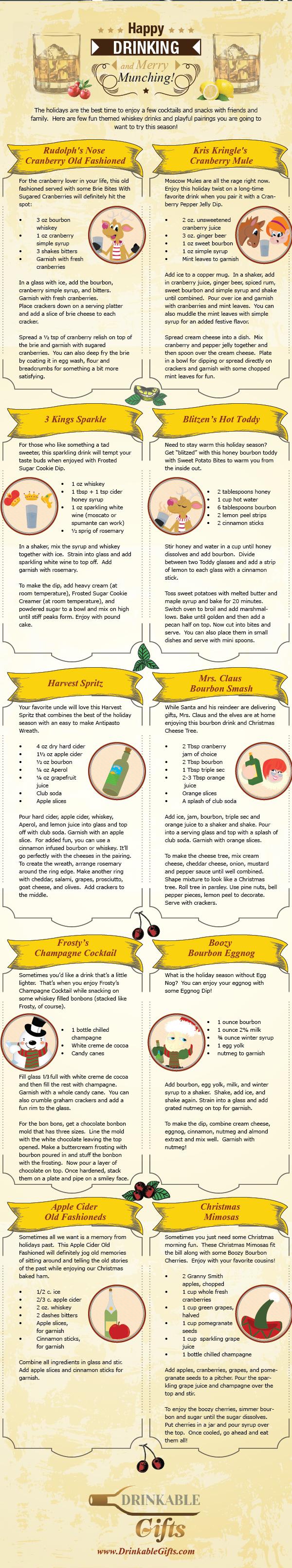 Christmas Alcoholic Bourbon Drink Recipes