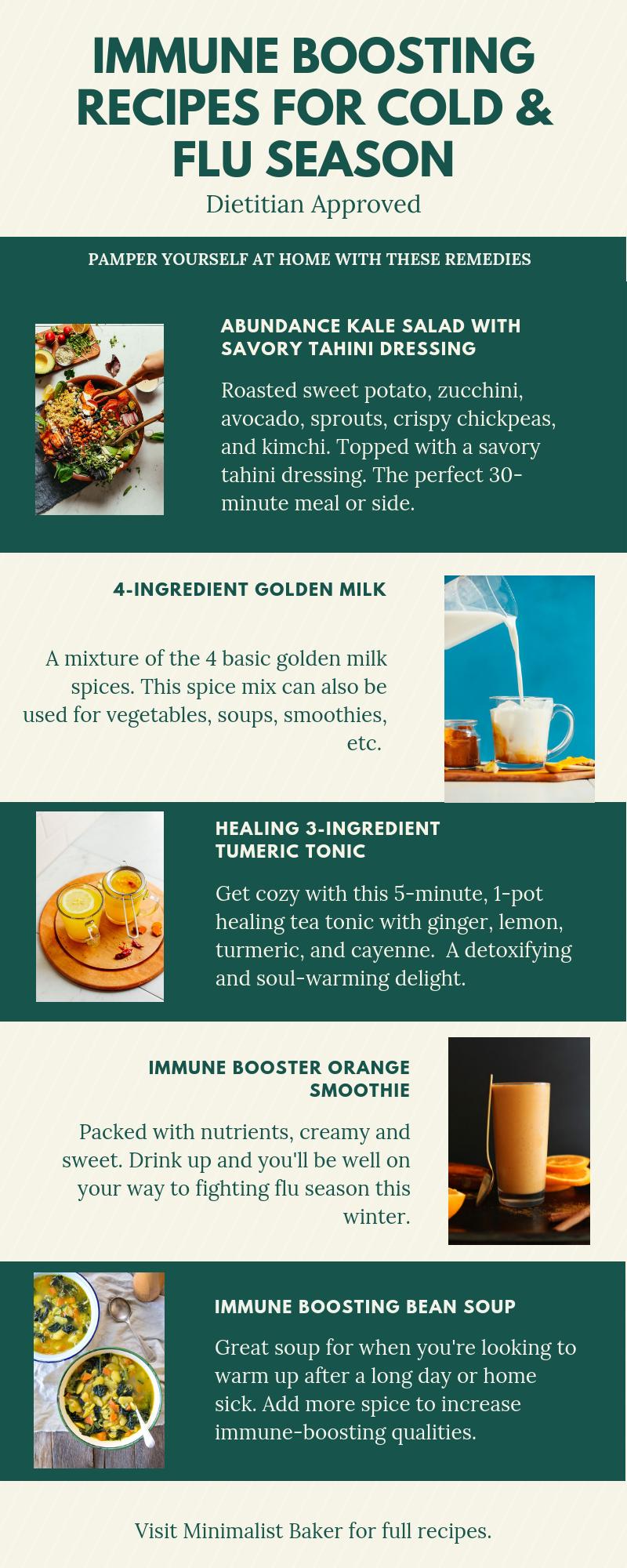 Immune Boosting Recipes for Cold & Flu Season