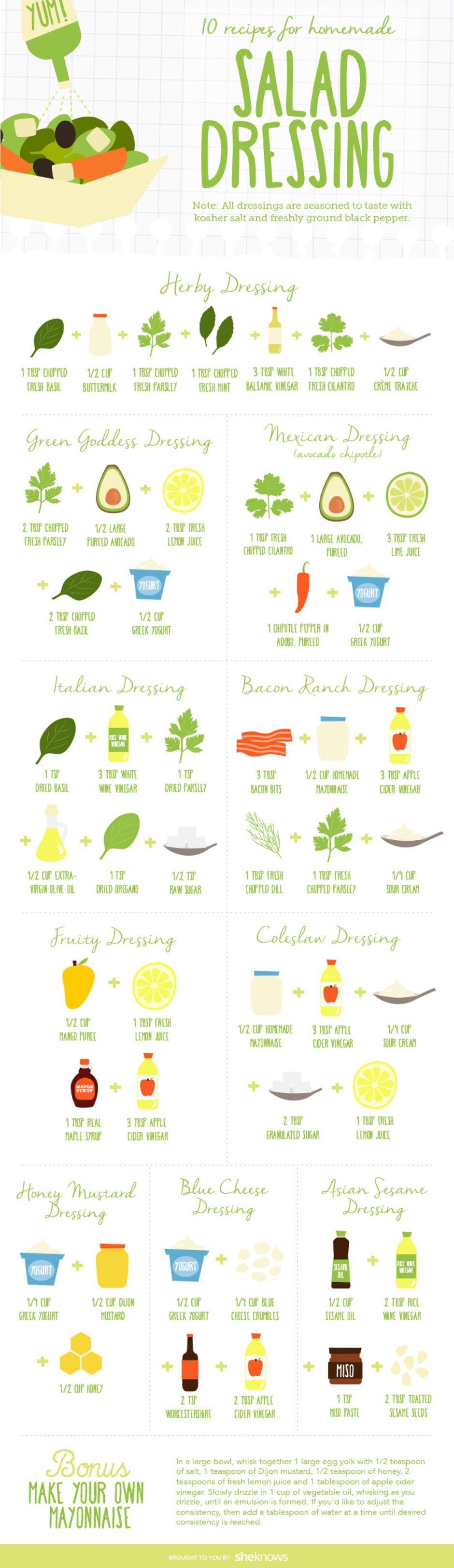 18 Salad & Salad Dressing