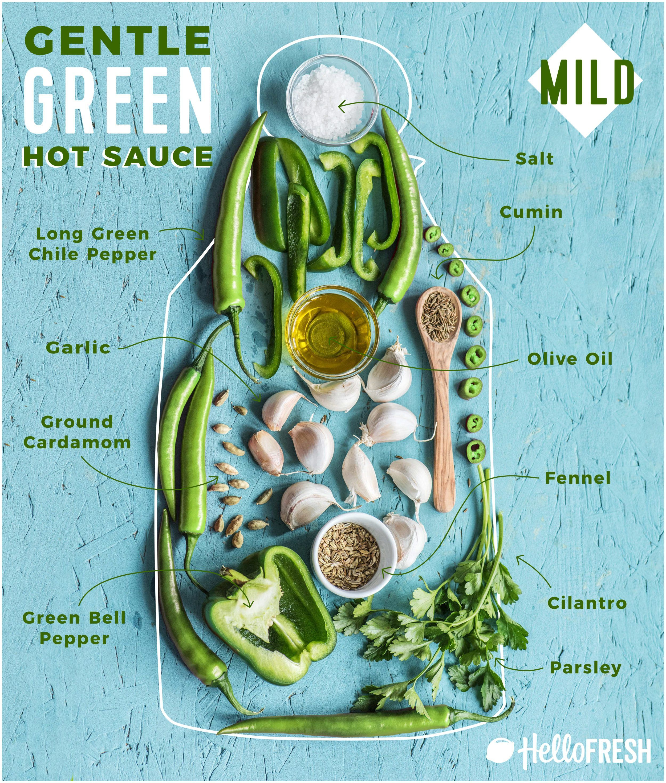 Gentle Green Hot Sauce