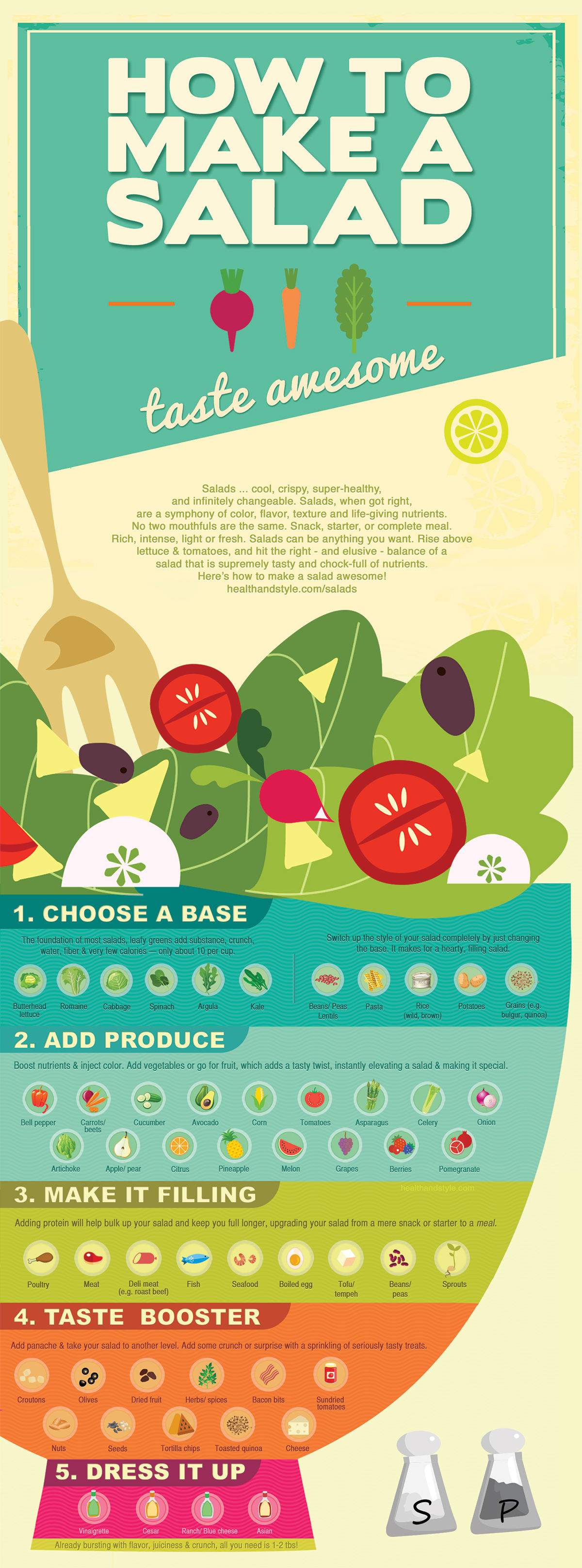 How to Make a Salad Taste Awesome