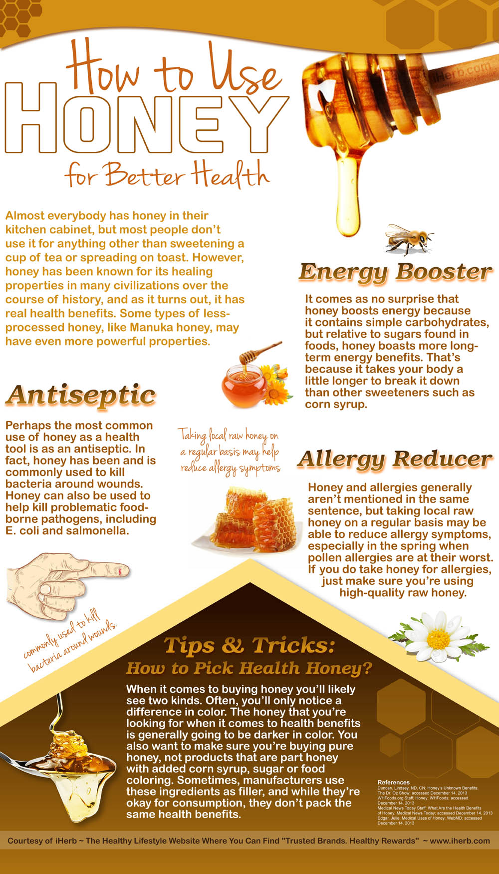 How to Use Honey for Better Health