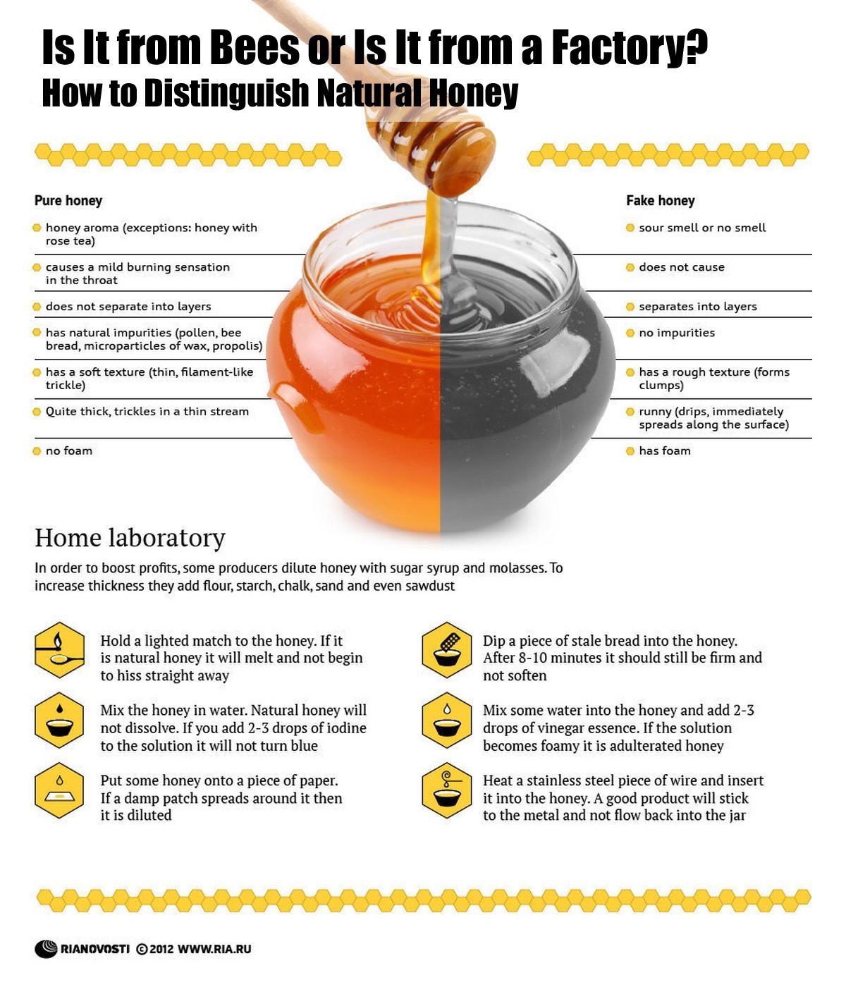 Real Honey Vs. Factory Honey