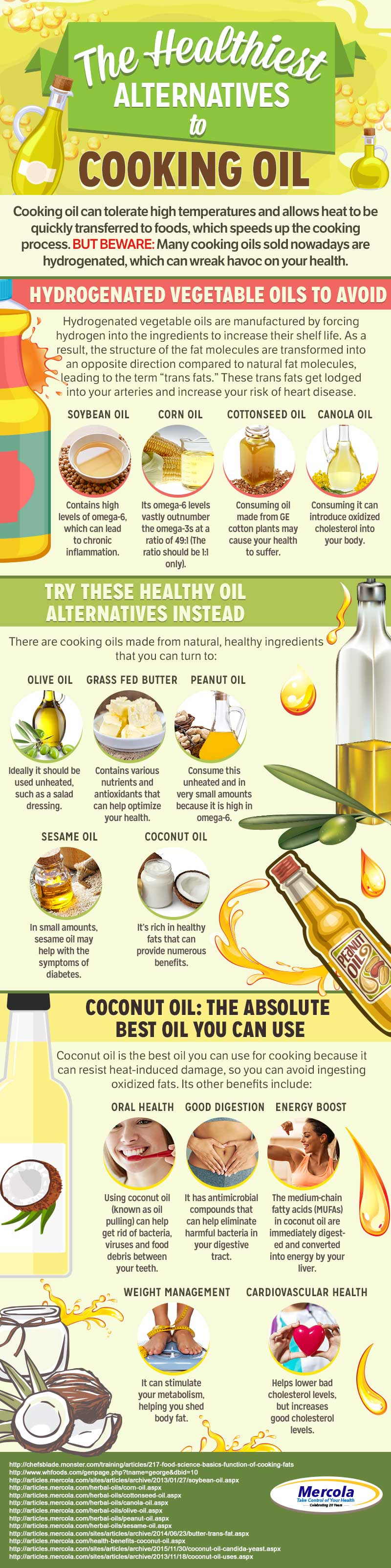 The Healthiest Alternatives to Cooking Oil