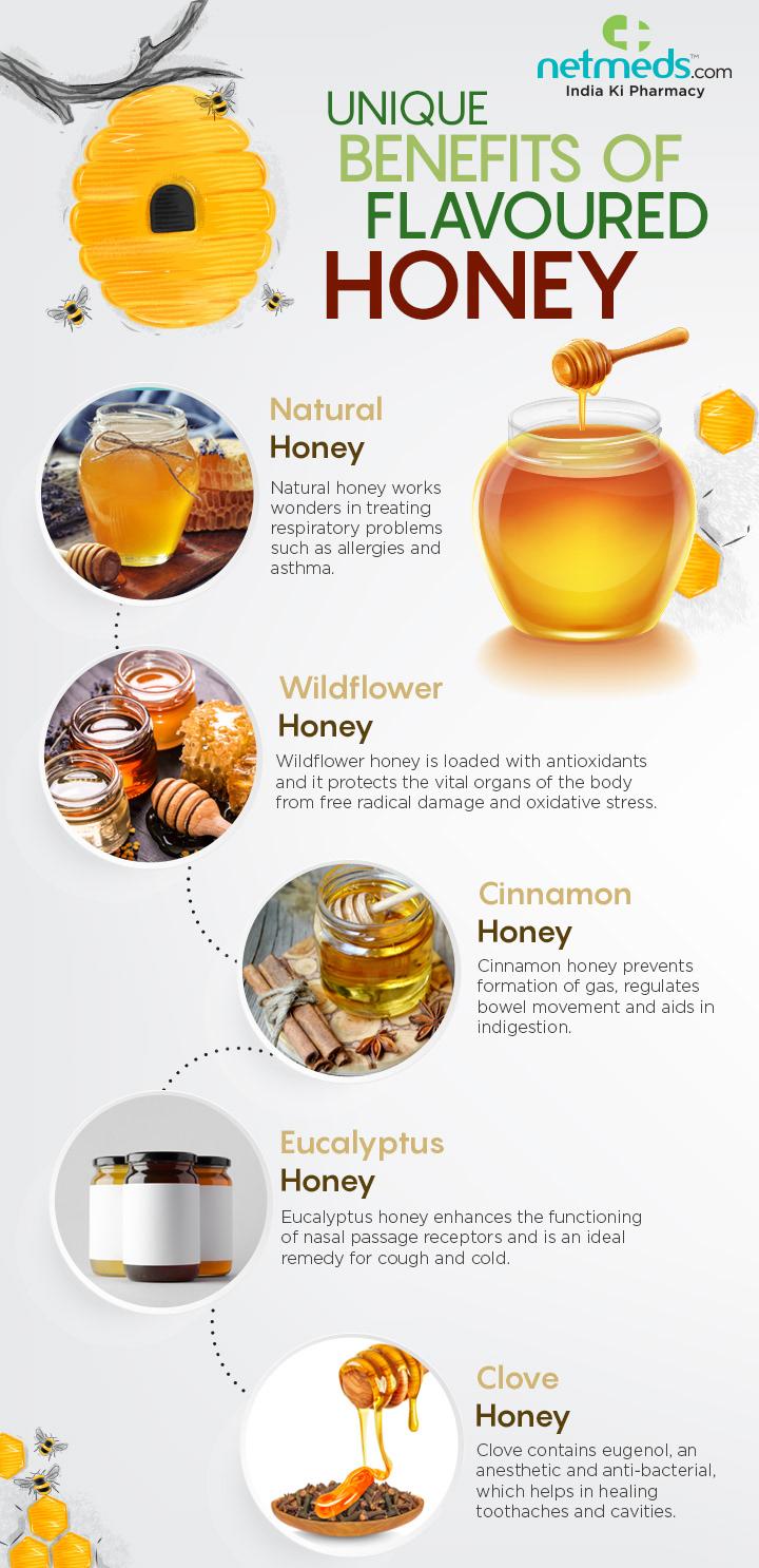 Unique Benefits of Flavoured Honey