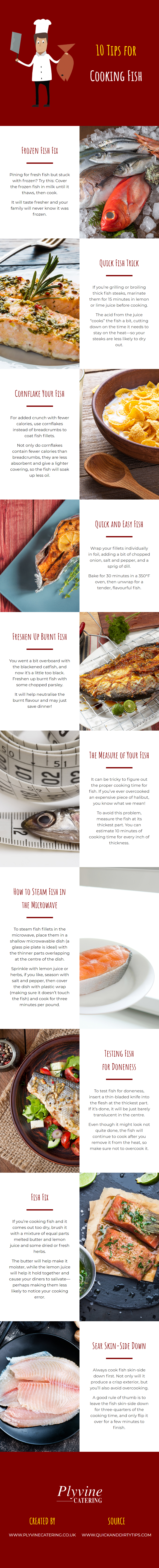 10 Tips for Cooking Fish