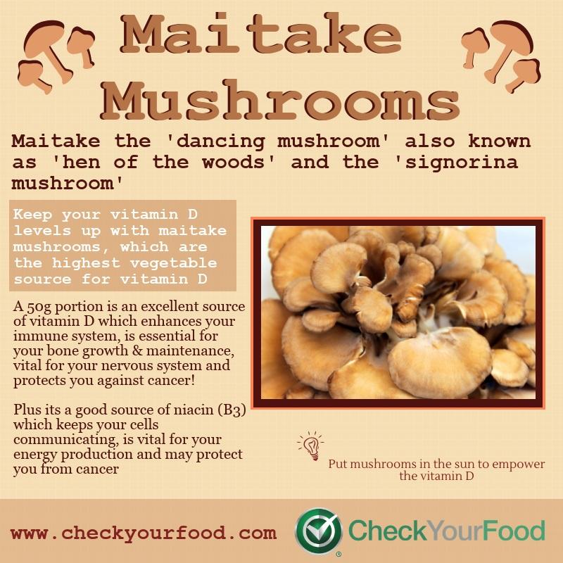 The Health Benefits of Maitake Mushrooms