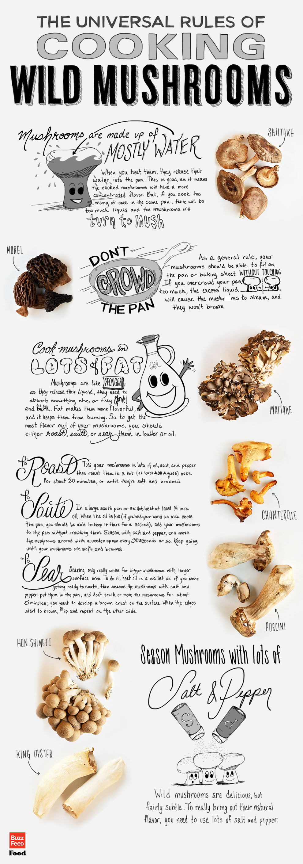 The Universal Rules of Cooking Wild Mushrooms