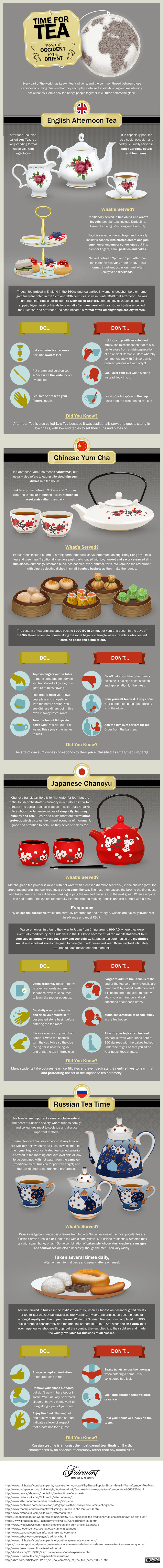 Time for Tea The Different Tea Traditions From Around the World