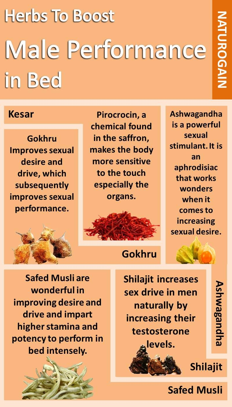 Herbs to Boost Male Performance in Bed