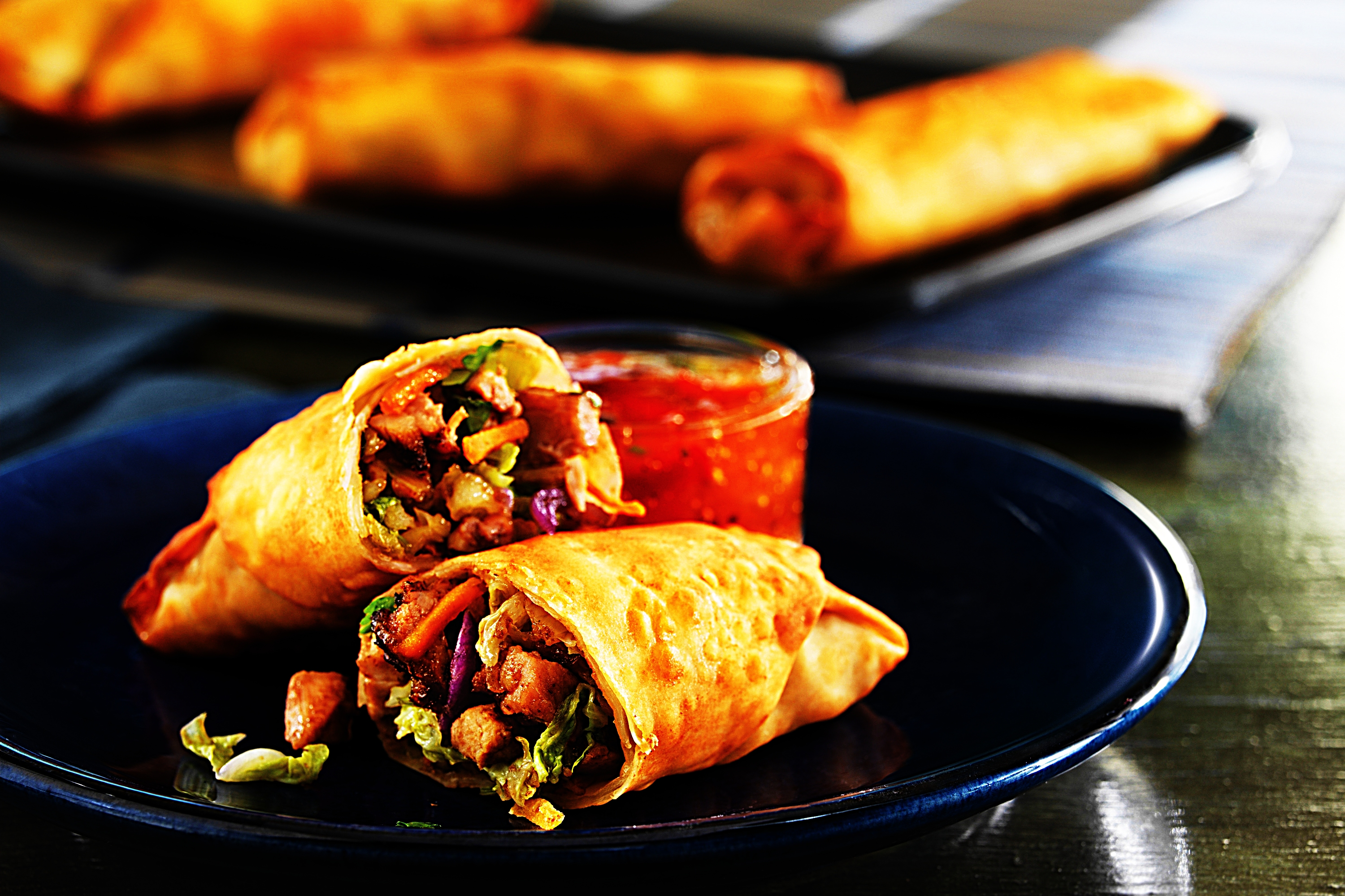 Stupid-Easy Recipe for Baked Pork Egg Rolls (#1 Top-Rated)