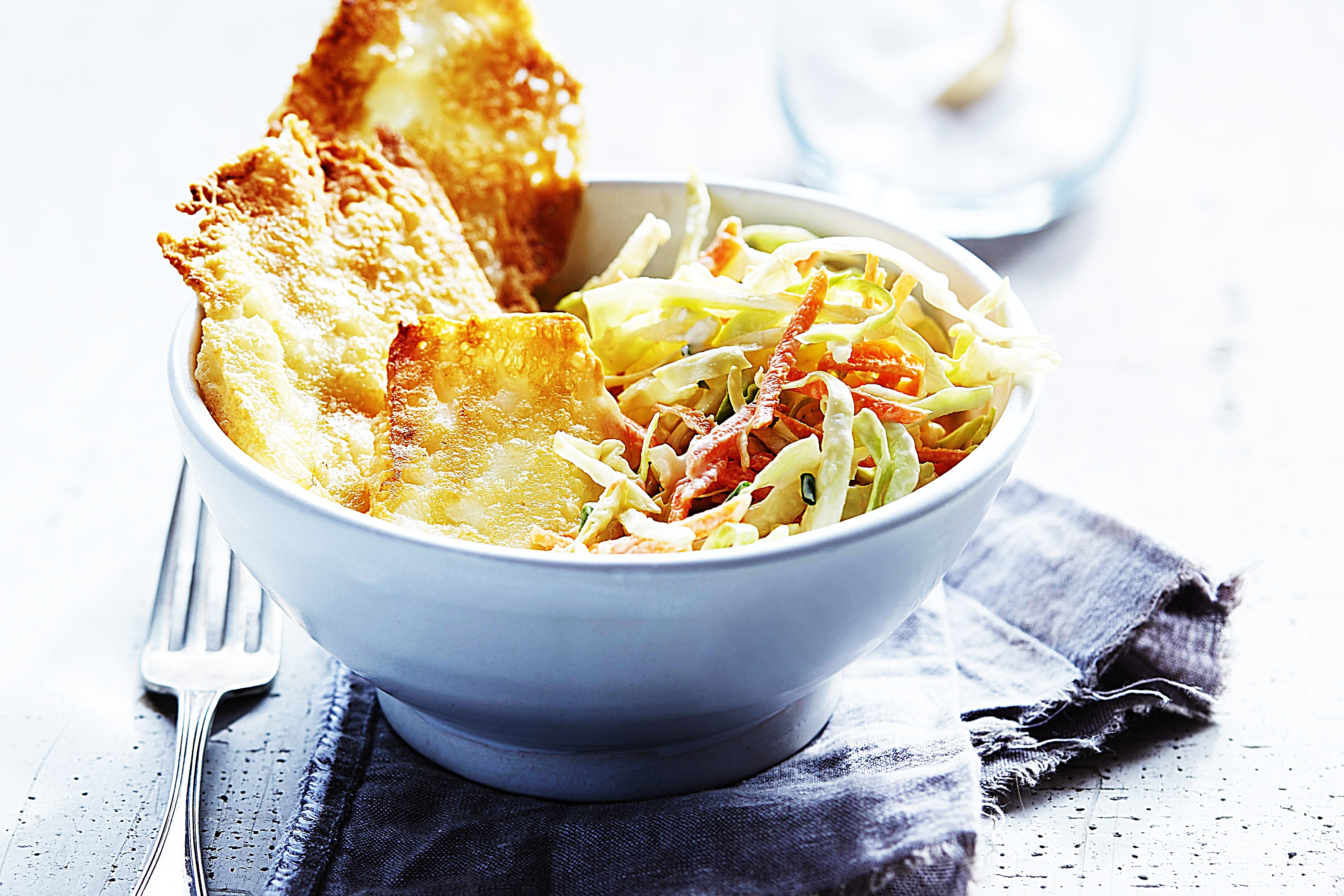 Stupid-Easy Recipe for Coleslaw with Grilling Cheese (#1 Top-Rated)