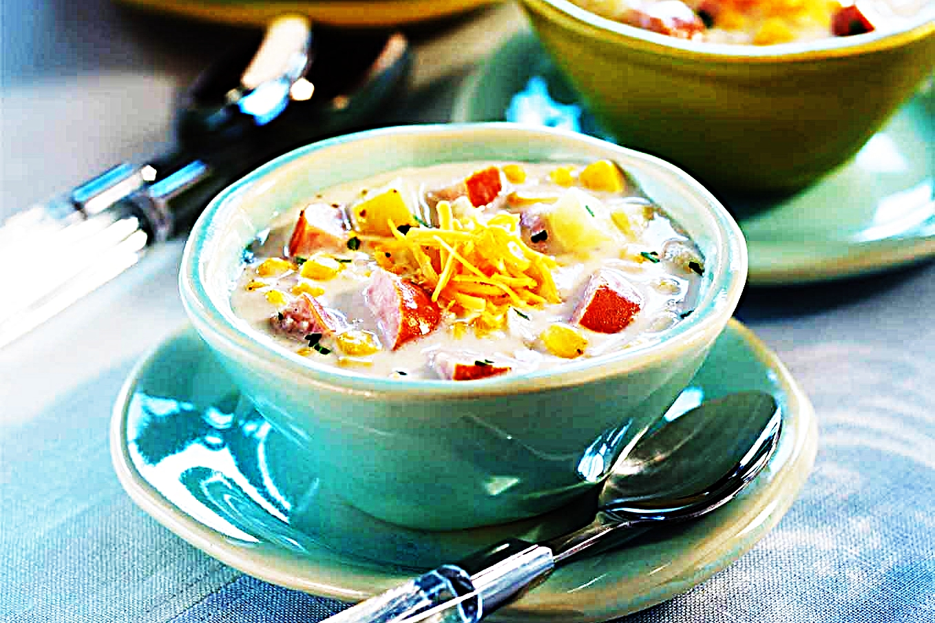 Stupid-Easy Recipe for Corn Chowder With Smoked Sausage (#1 Top-Rated)