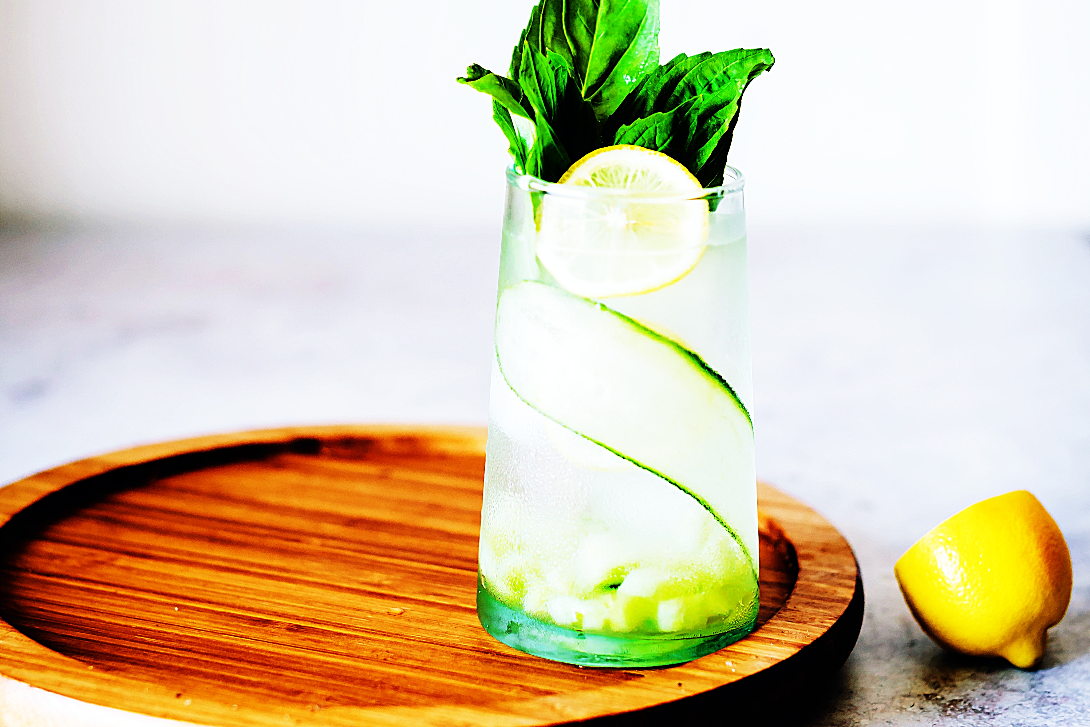 Stupid-Easy Recipe for Cucumber Basil Summer Sipper (#1 Top-Rated)