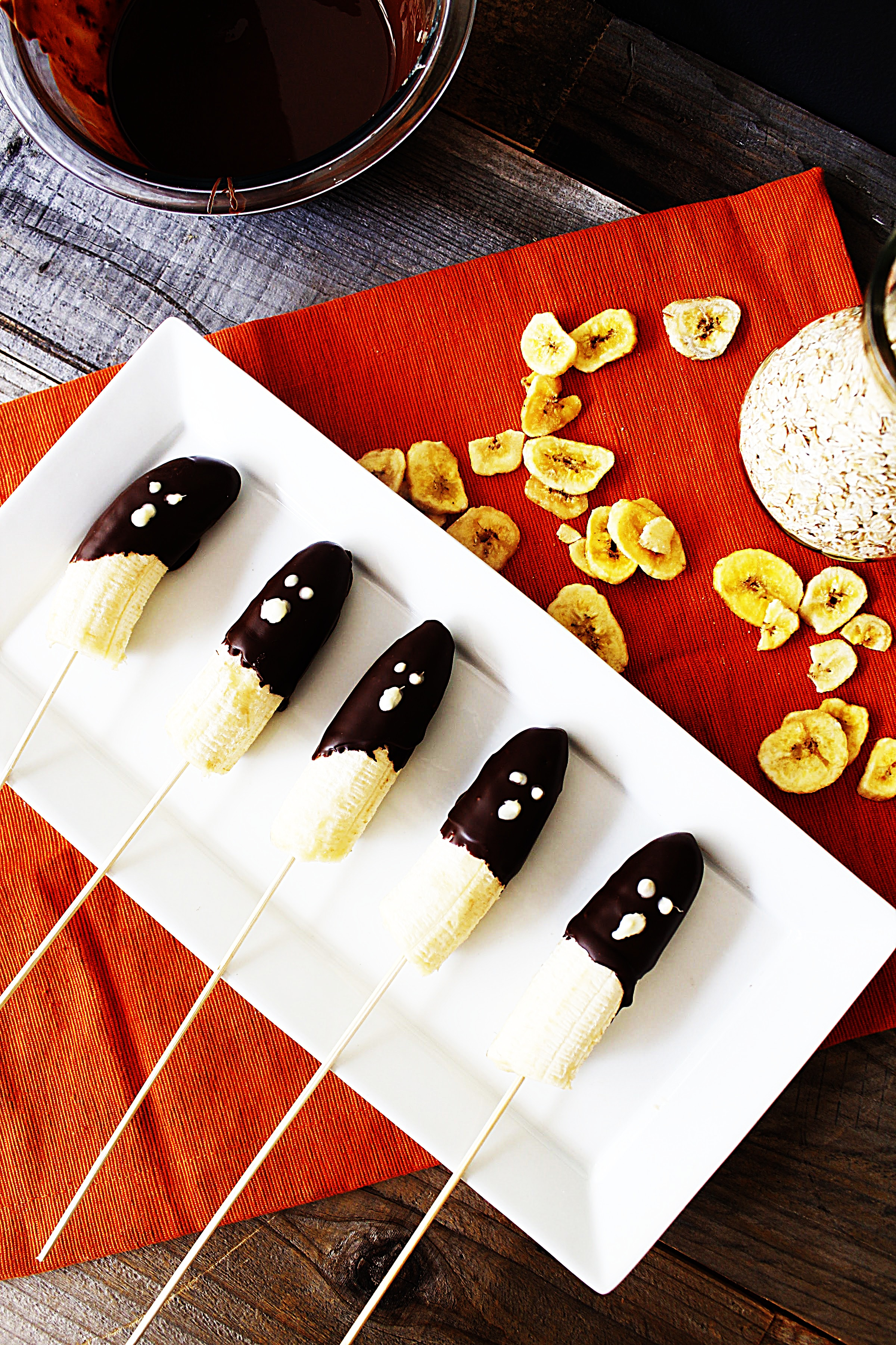 Stupid-Easy Recipe for Easy Halloween Boo-Nana Pops (#1 Top-Rated)