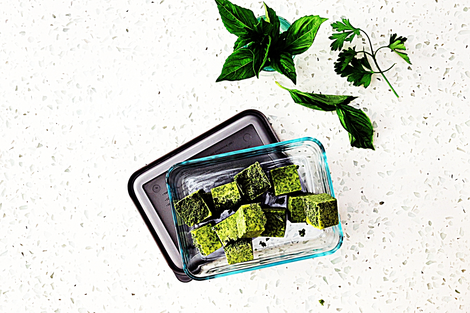 Stupid-Easy Recipe for Frozen Fresh Herb Flavor Bombs (#1 Top-Rated)