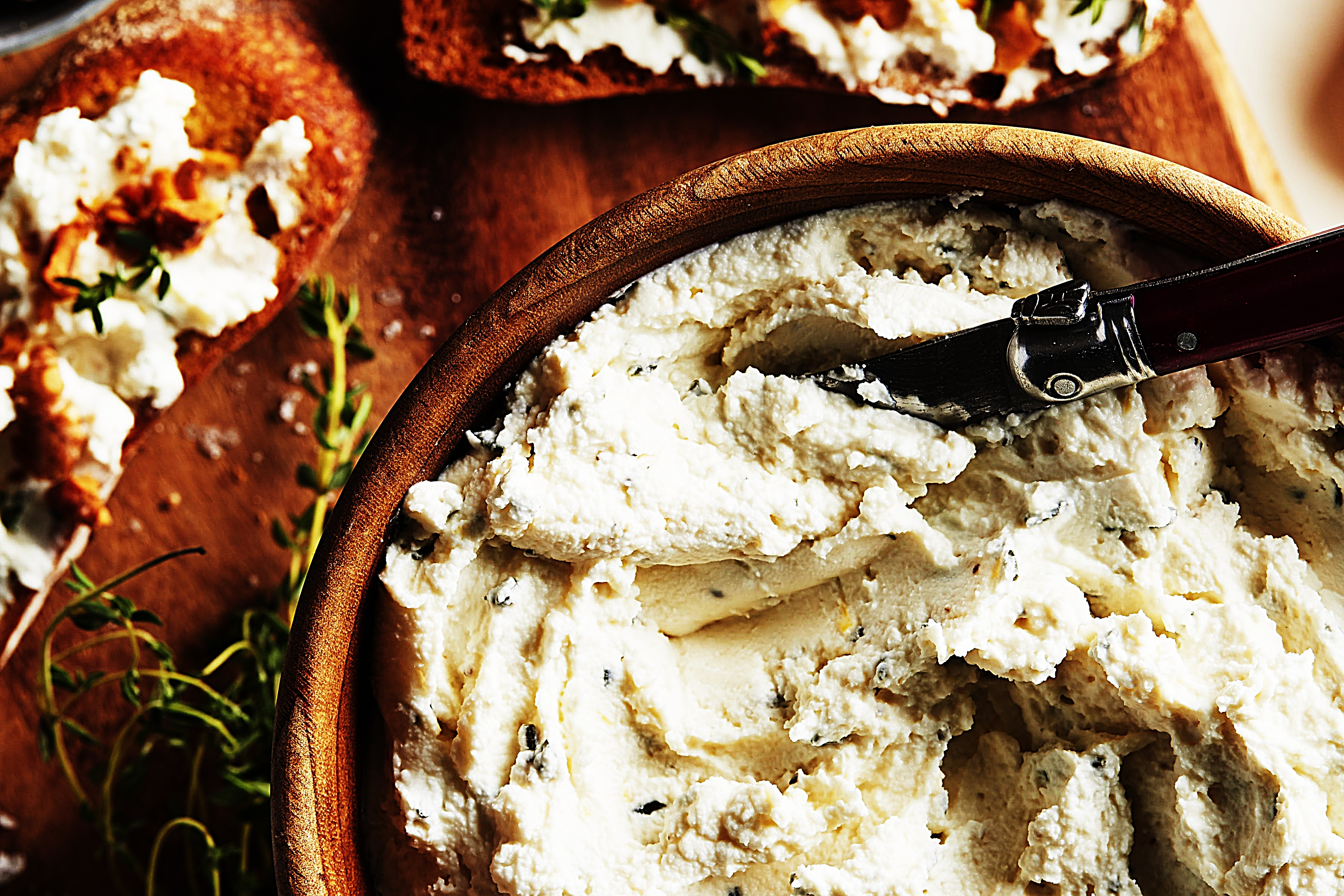 Stupid-Easy Recipe for Goat Cheese Mousse Crostini (#1 Top-Rated)