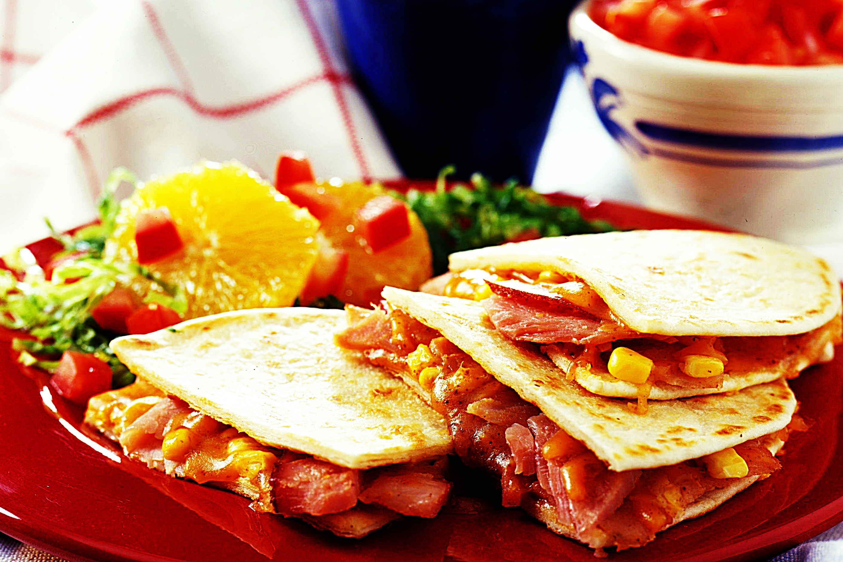 Stupid-Easy Recipe for Ham Quesadillas (#1 Top-Rated)