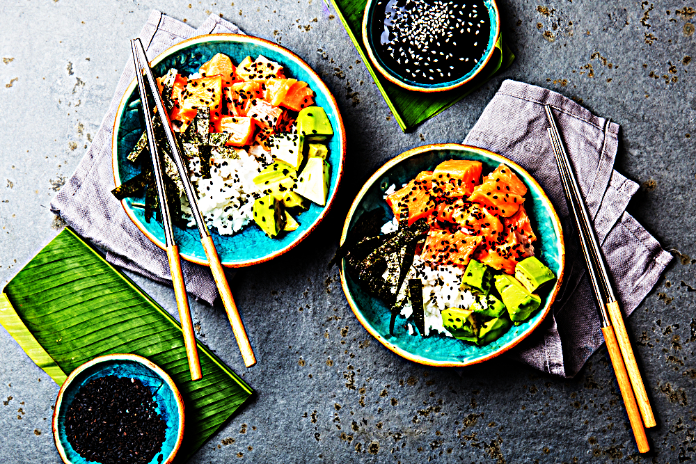 Stupid-Easy Recipe for Homemade Sushi Bowl (#1 Top-Rated)