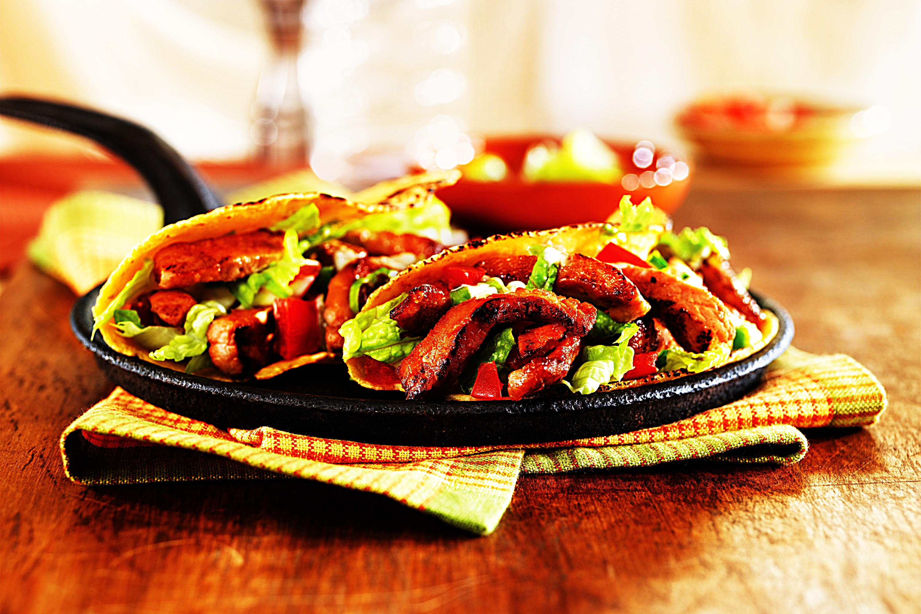 Stupid-Easy Recipe for Honey and Spice Sauteed Pork Hand Tacos (#1 Top-Rated)