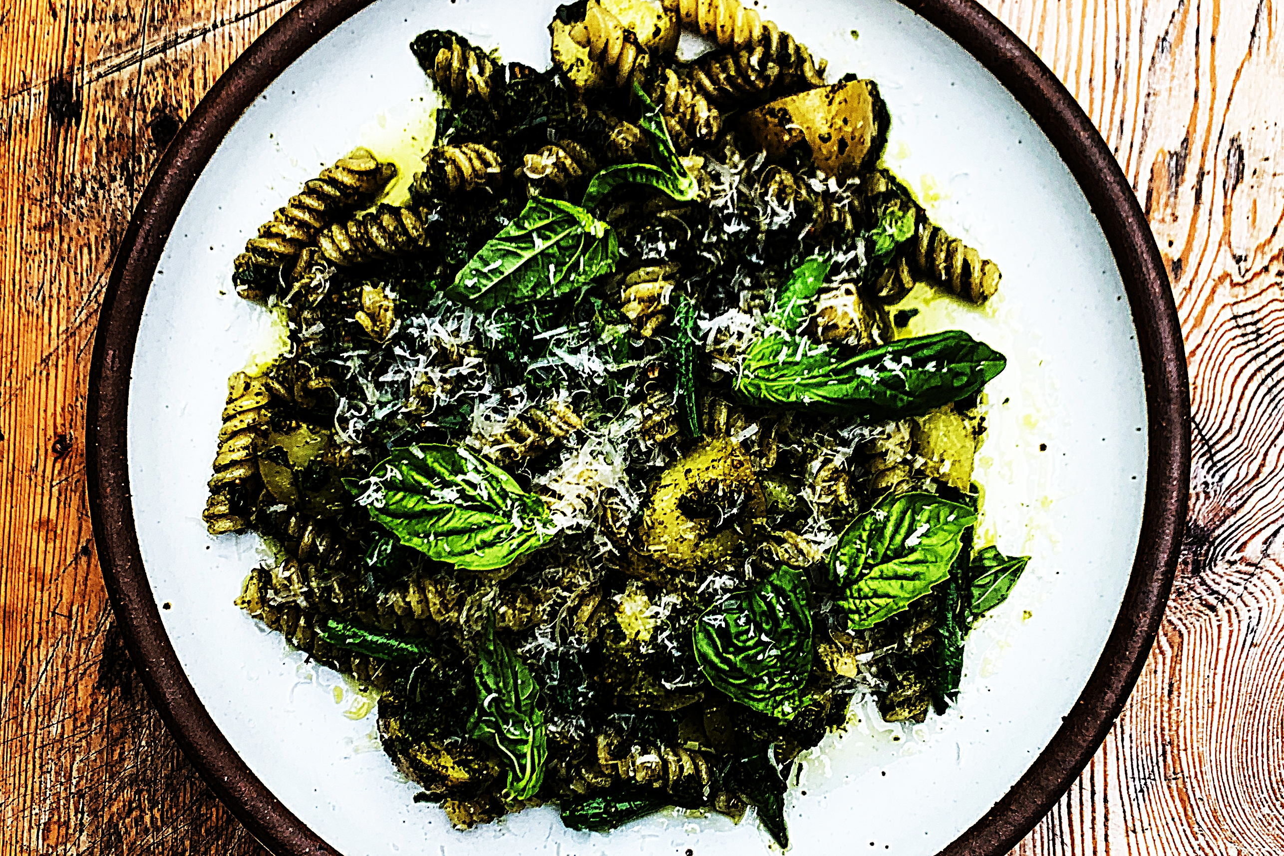 Stupid-Easy Recipe for OG Fusilli Pesto with Green Beans and Potatoes (#1 Top-Rated)