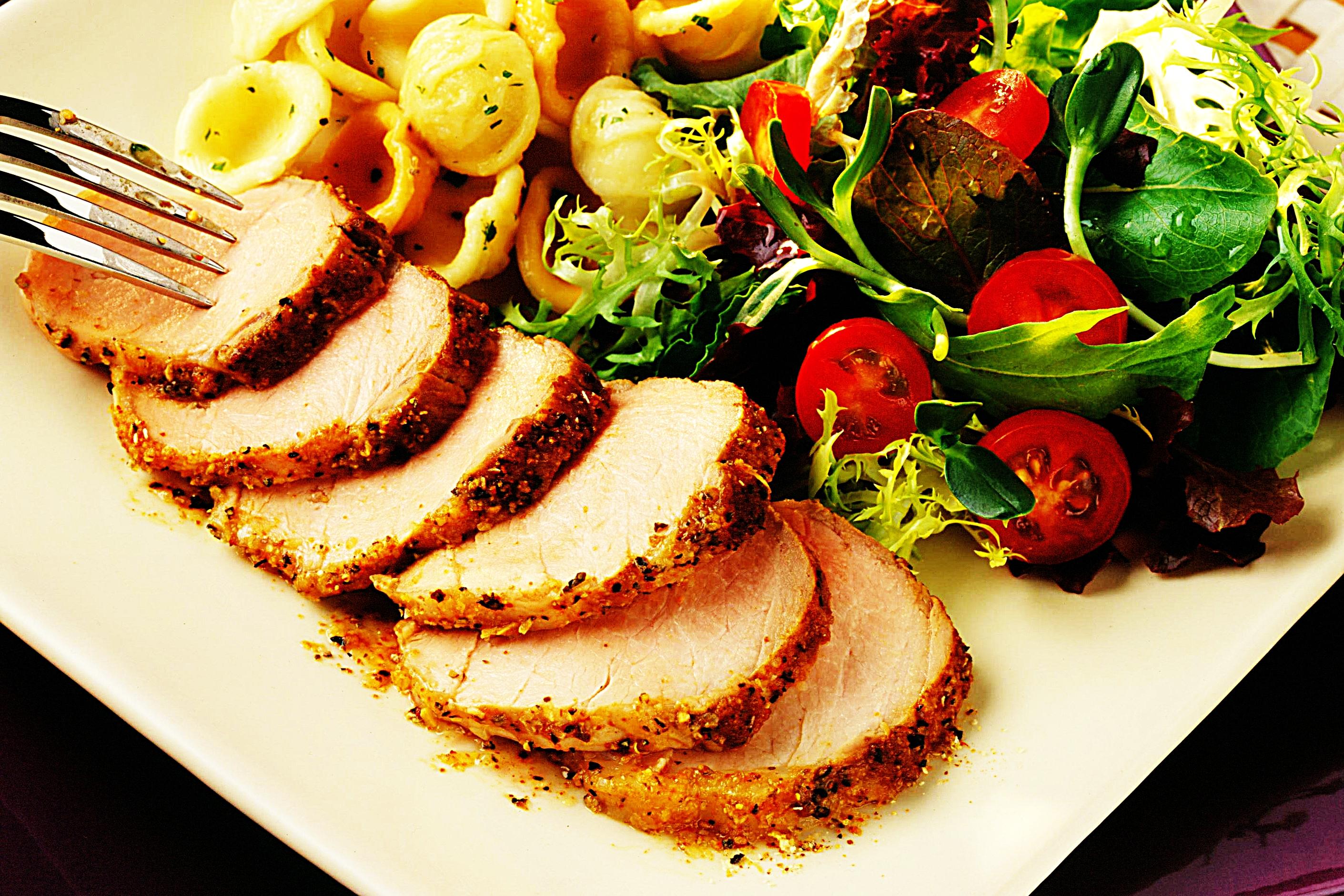 Stupid-Easy Recipe for Peppered Pork Tenderloin (#1 Top-Rated)