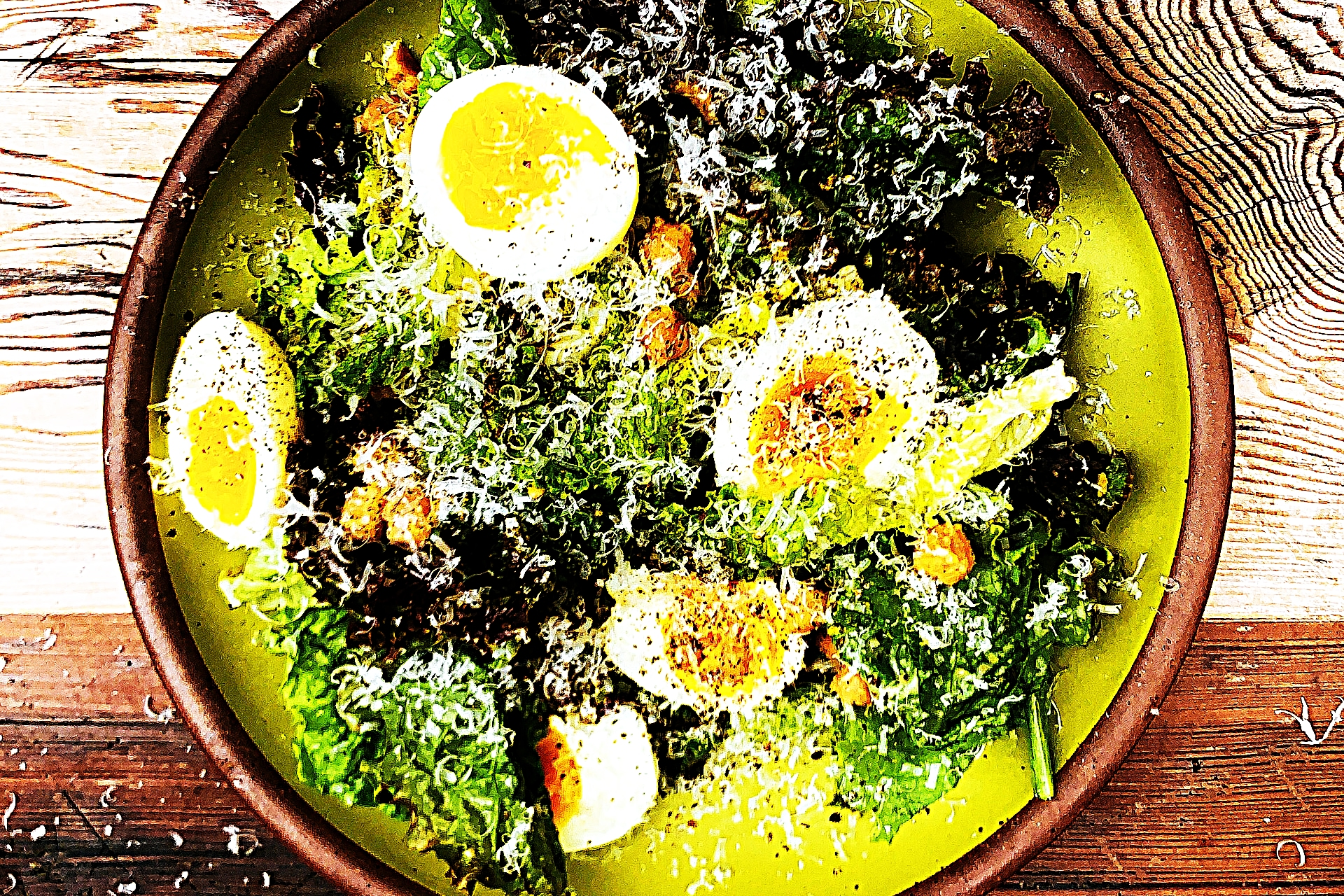 Stupid-Easy Recipe for Popped Chickpea Caesar, Fudgy Eggs, and Pecorino (#1 Top-Rated)
