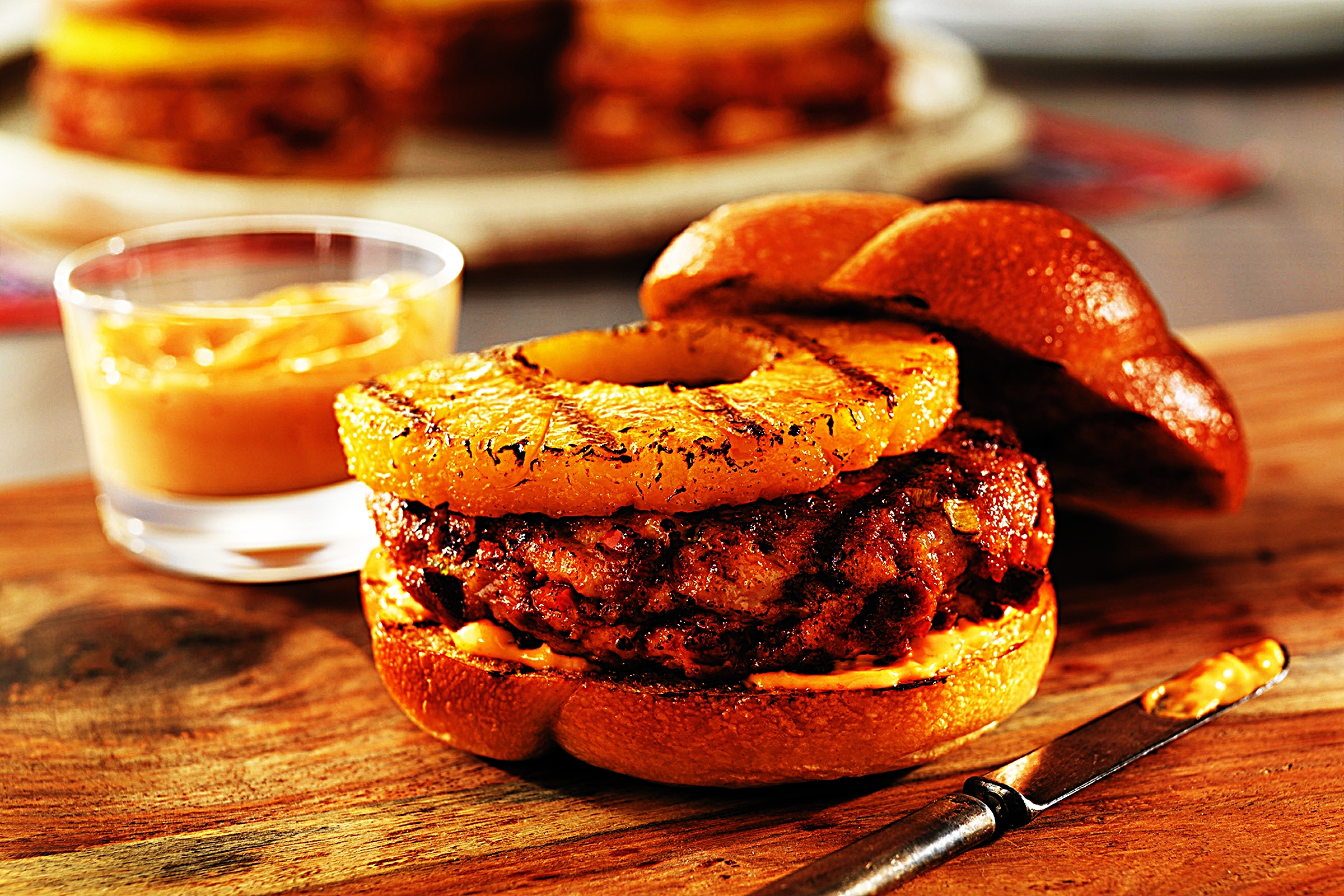 Stupid-Easy Recipe for Pork and Chorizo Burgers with Pineapple and Sriracha (#1 Top-Rated)