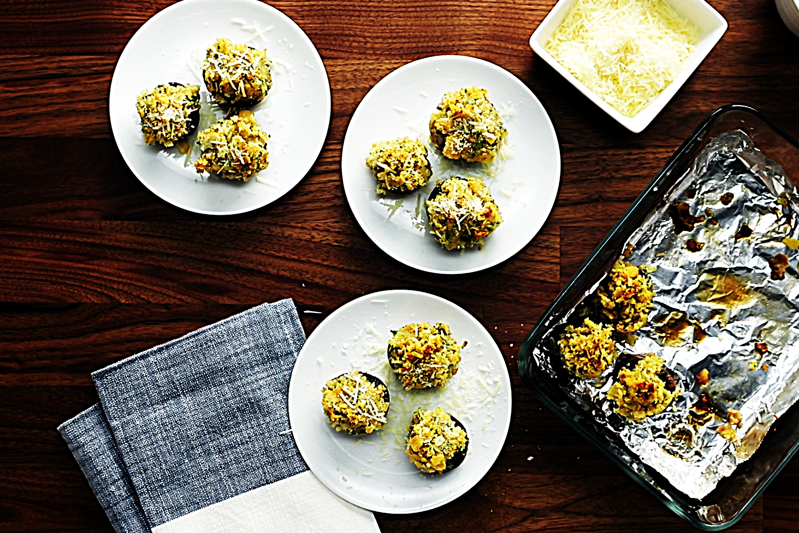 Stupid-Easy Recipe for Rich and Crispy Cracker-Stuffed Mushrooms (#1 Top-Rated)
