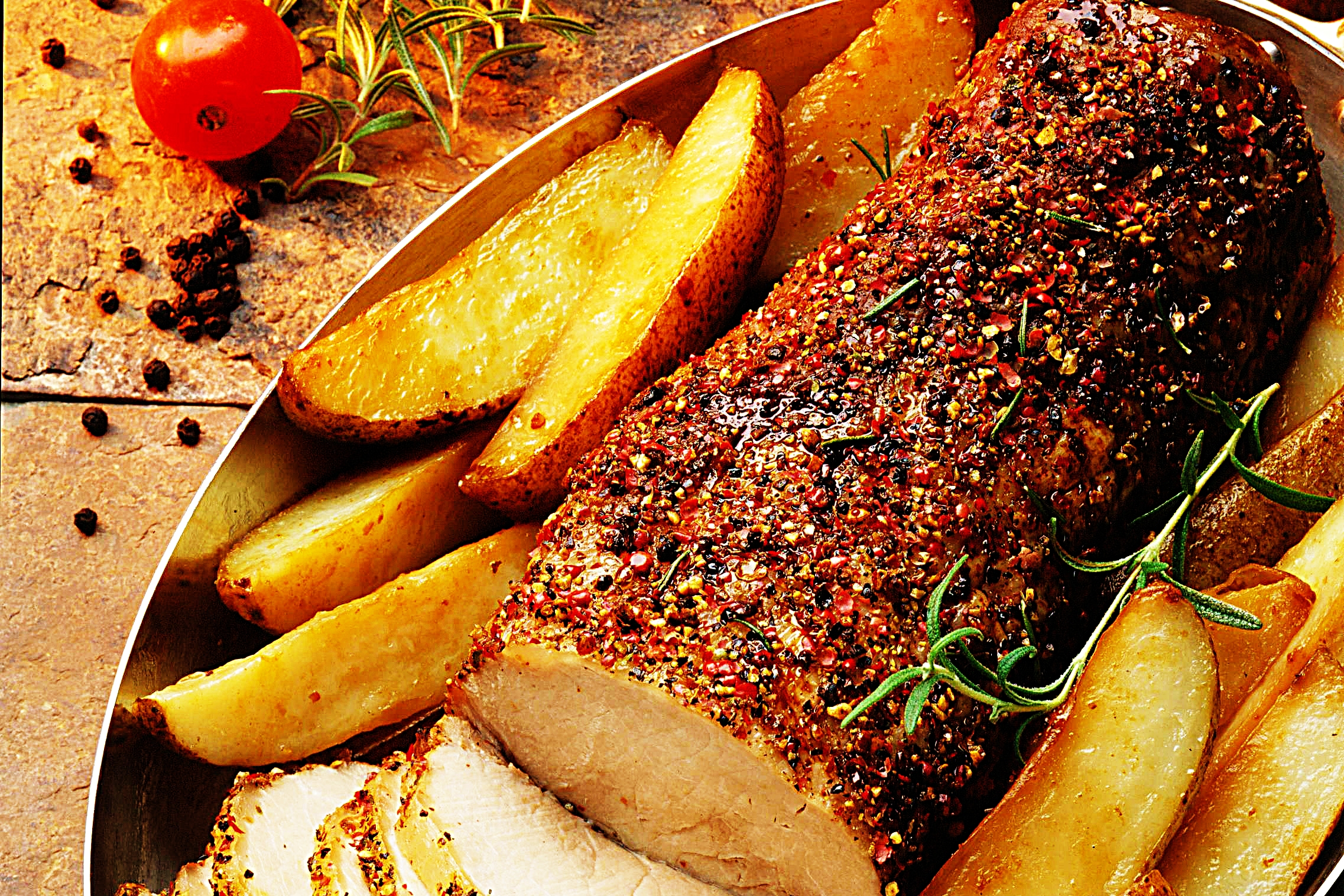 Stupid-Easy Recipe for Roasted Peppered Pork Loin (#1 Top-Rated)