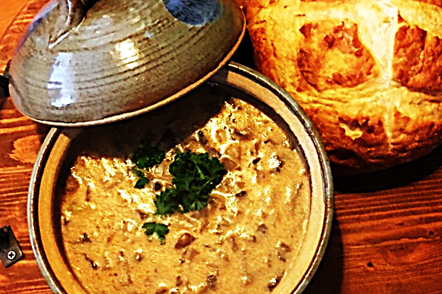 Stupid-Easy Recipe for Rustic Hungarian Mushroom Soup  (#1 Top-Rated)