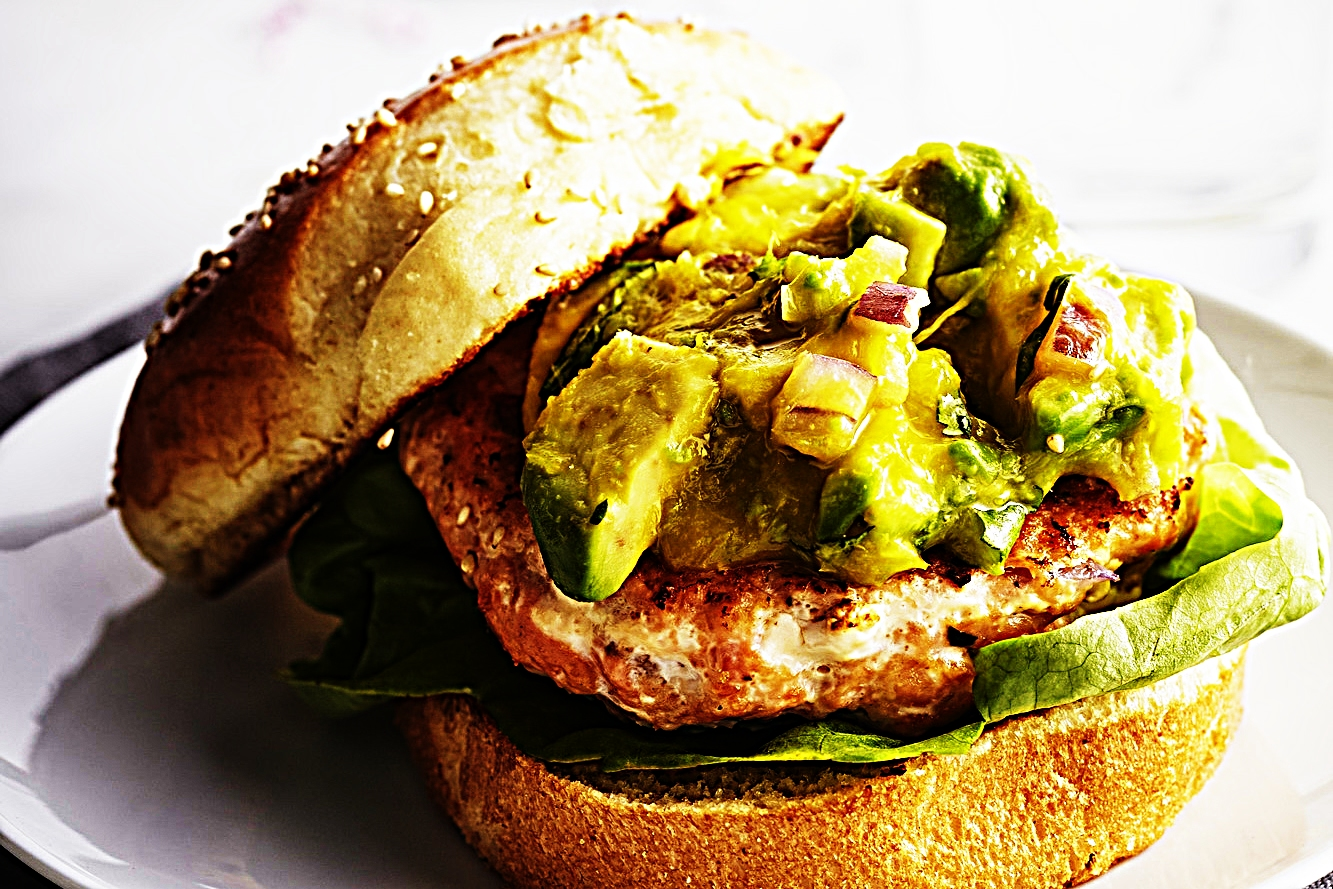 Stupid-Easy Recipe for Salmon Burgers with Mango Avocado Salsa (#1 Top-Rated)