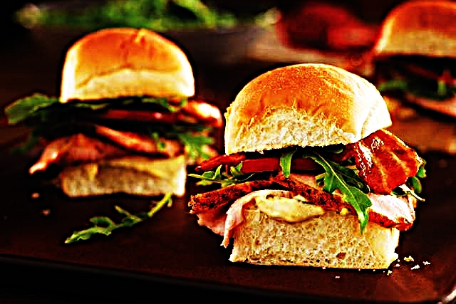 Stupid-Easy Recipe for Spice Rubbed Pork Loin BLT Sliders With Dijon Remoulade (#1 Top-Rated)