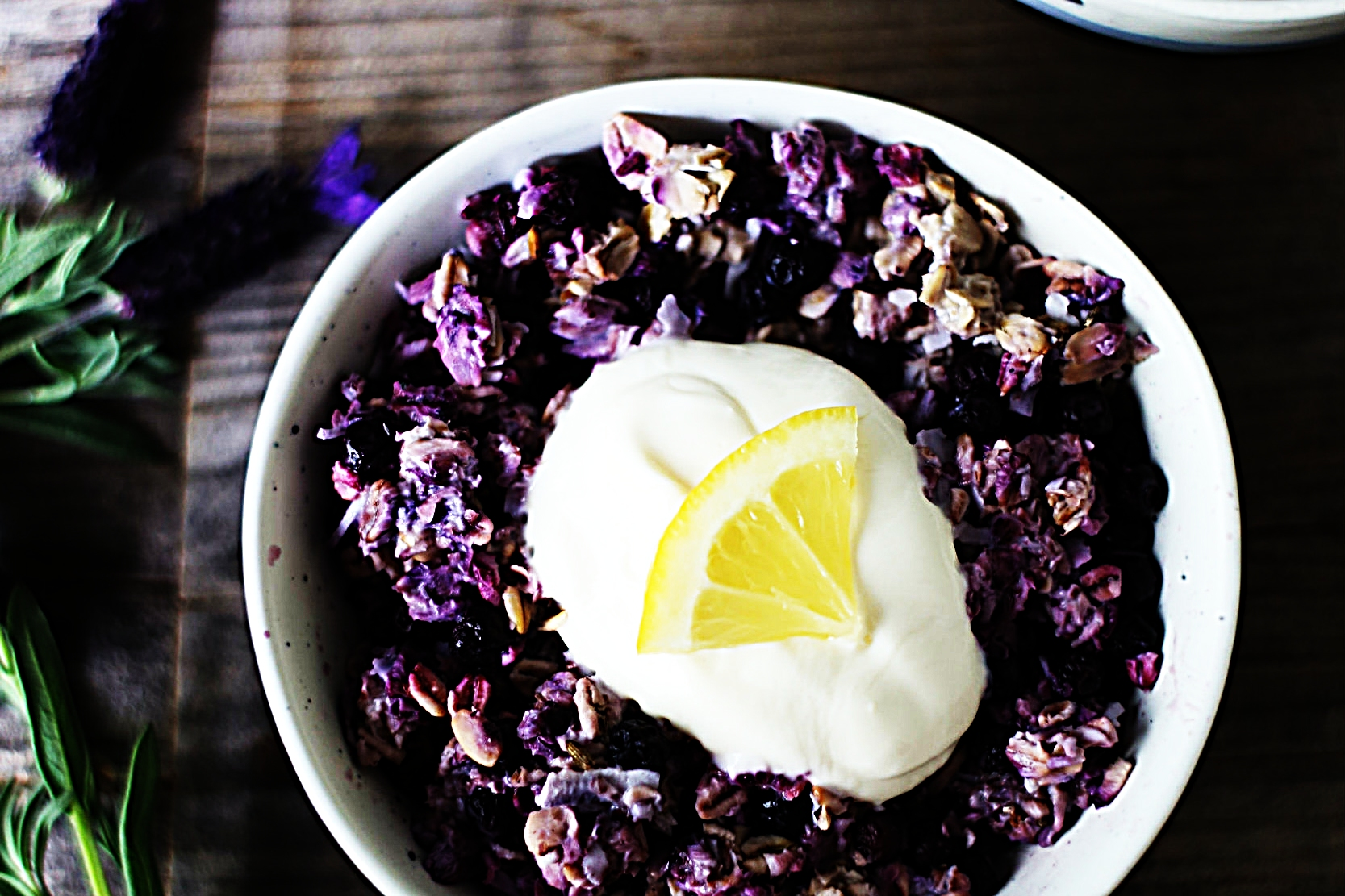 Stupid-Easy Recipe for Wild Blueberry-Lavender Overnight Oats (#1 Top-Rated)