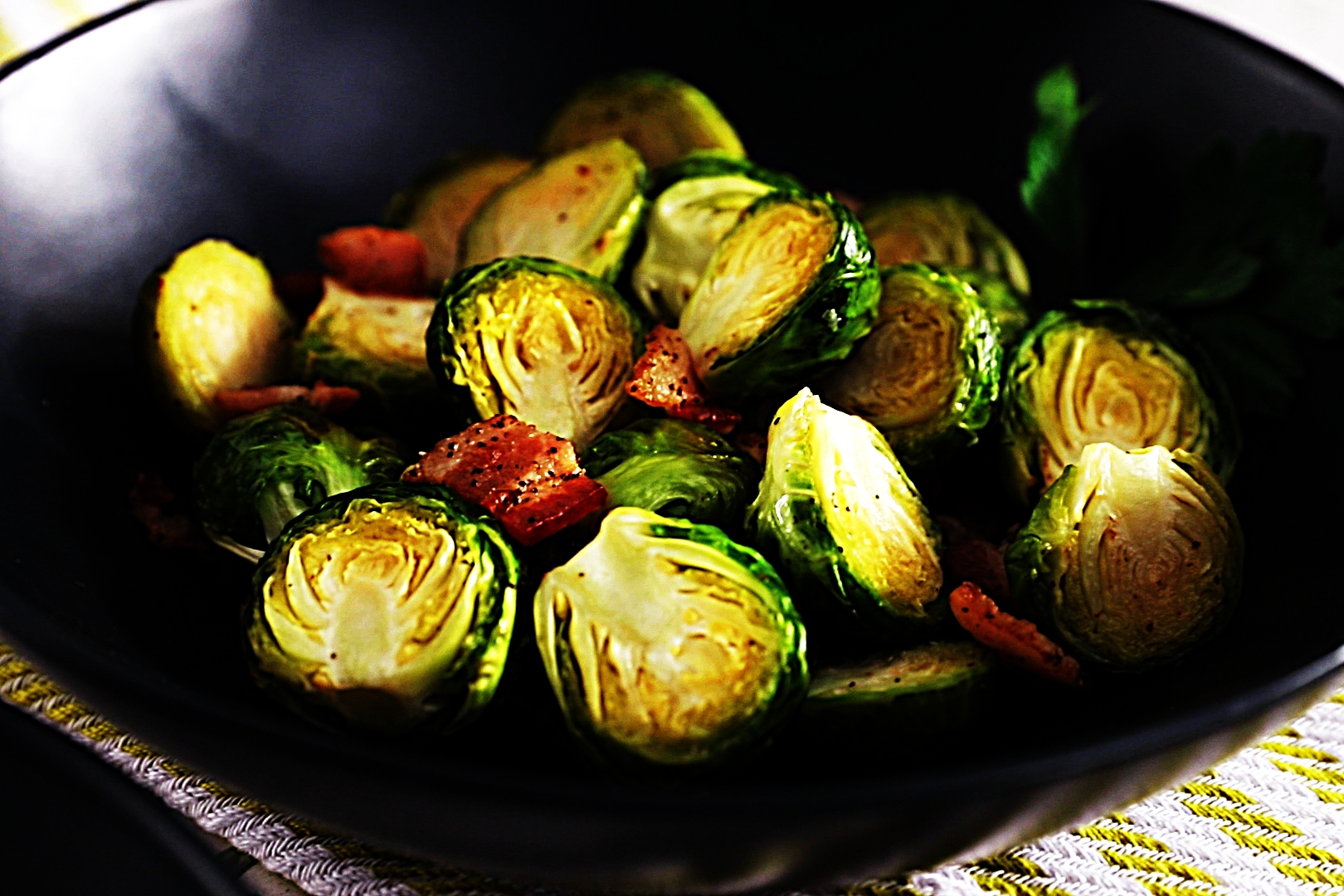 Stupid-Easy Recipe for Bacon Roasted Brussels Sprouts (#1 Top-Rated)