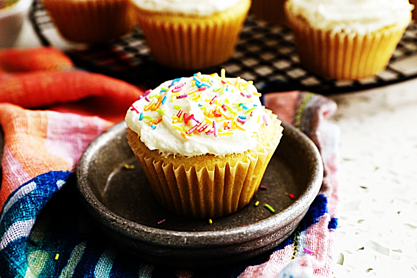 Stupid-Easy Recipe for Basic Vanilla Cupcakes with Vanilla Buttercream (#1 Top-Rated)