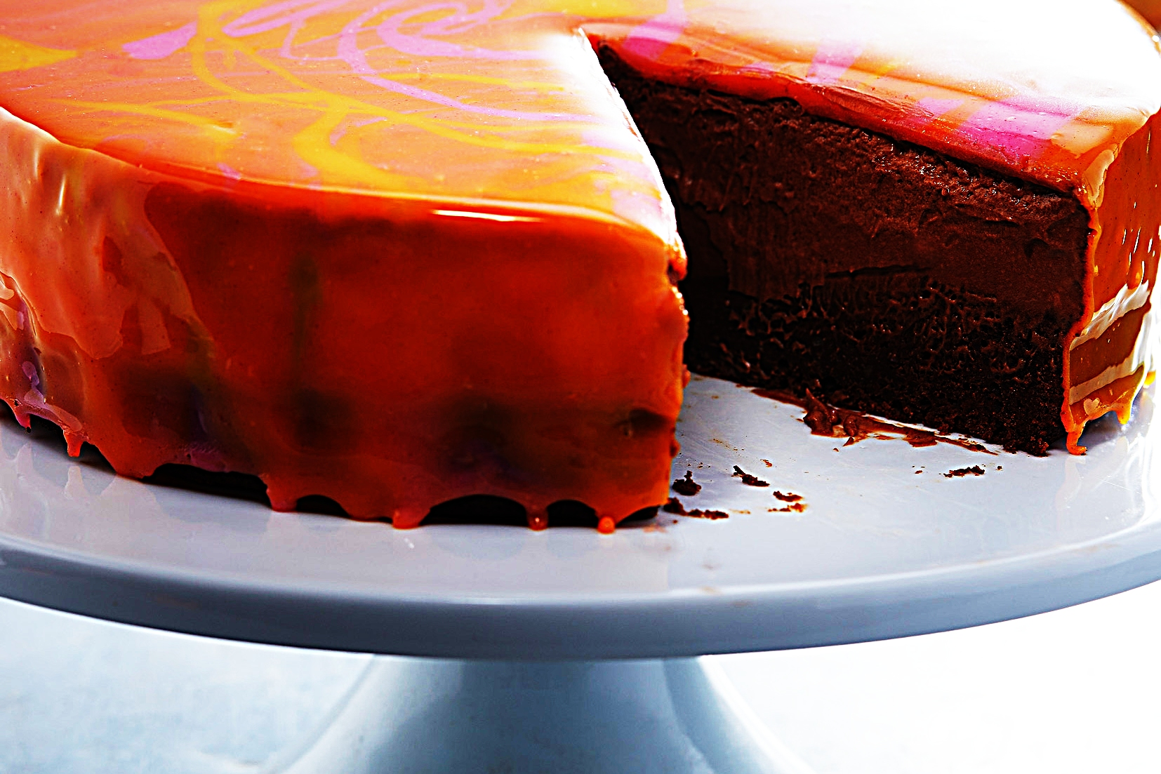 Stupid-Easy Recipe for Chocolate Mousse Mirror Glaze Cake (#1 Top-Rated)