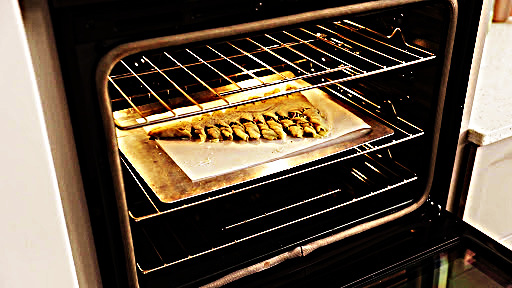 Photo made during Oven process