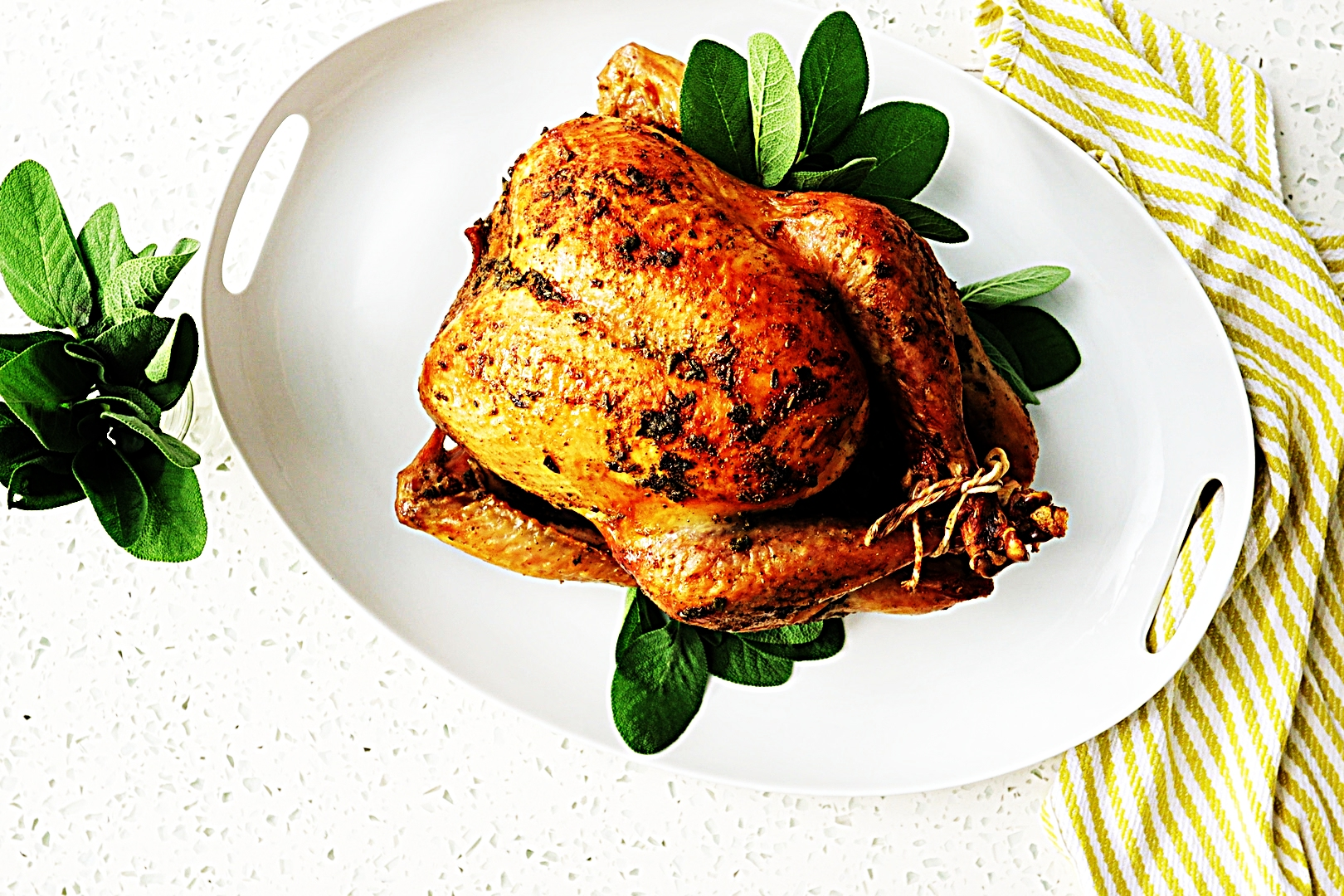 Stupid-Easy Recipe for Dry-Brined Roast Turkey with Garlic Sage Butter (#1 Top-Rated)