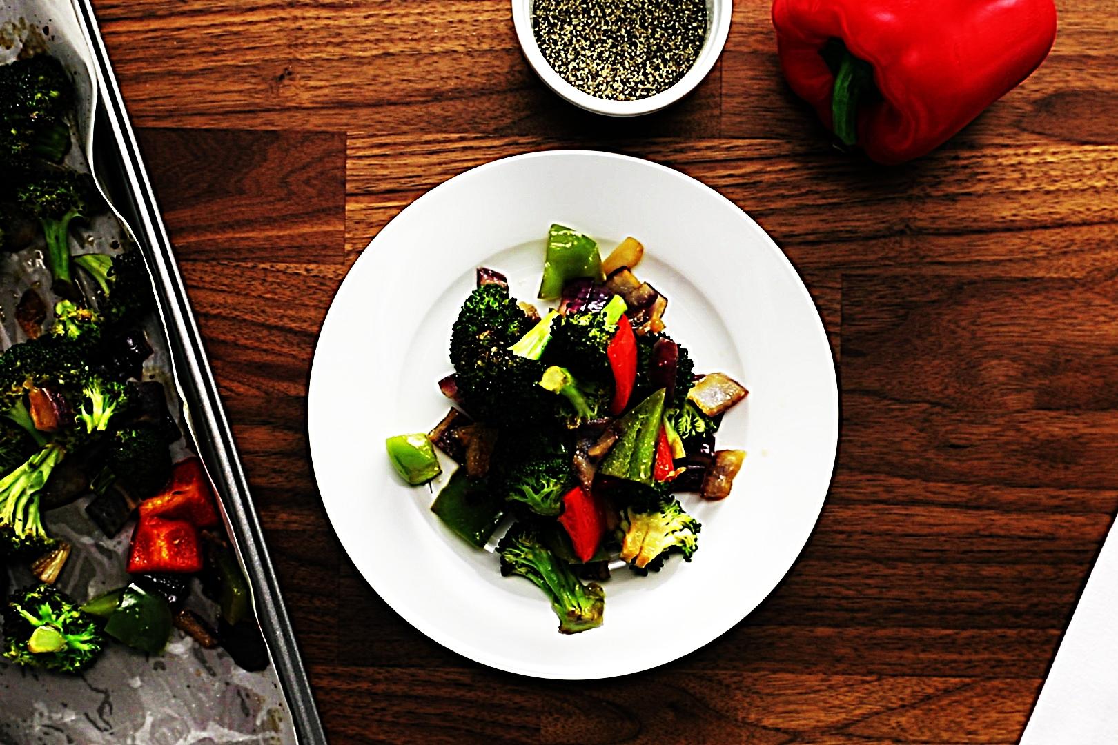 Stupid-Easy Recipe for Easy Sesame-Glazed Roast Vegetables (#1 Top-Rated)
