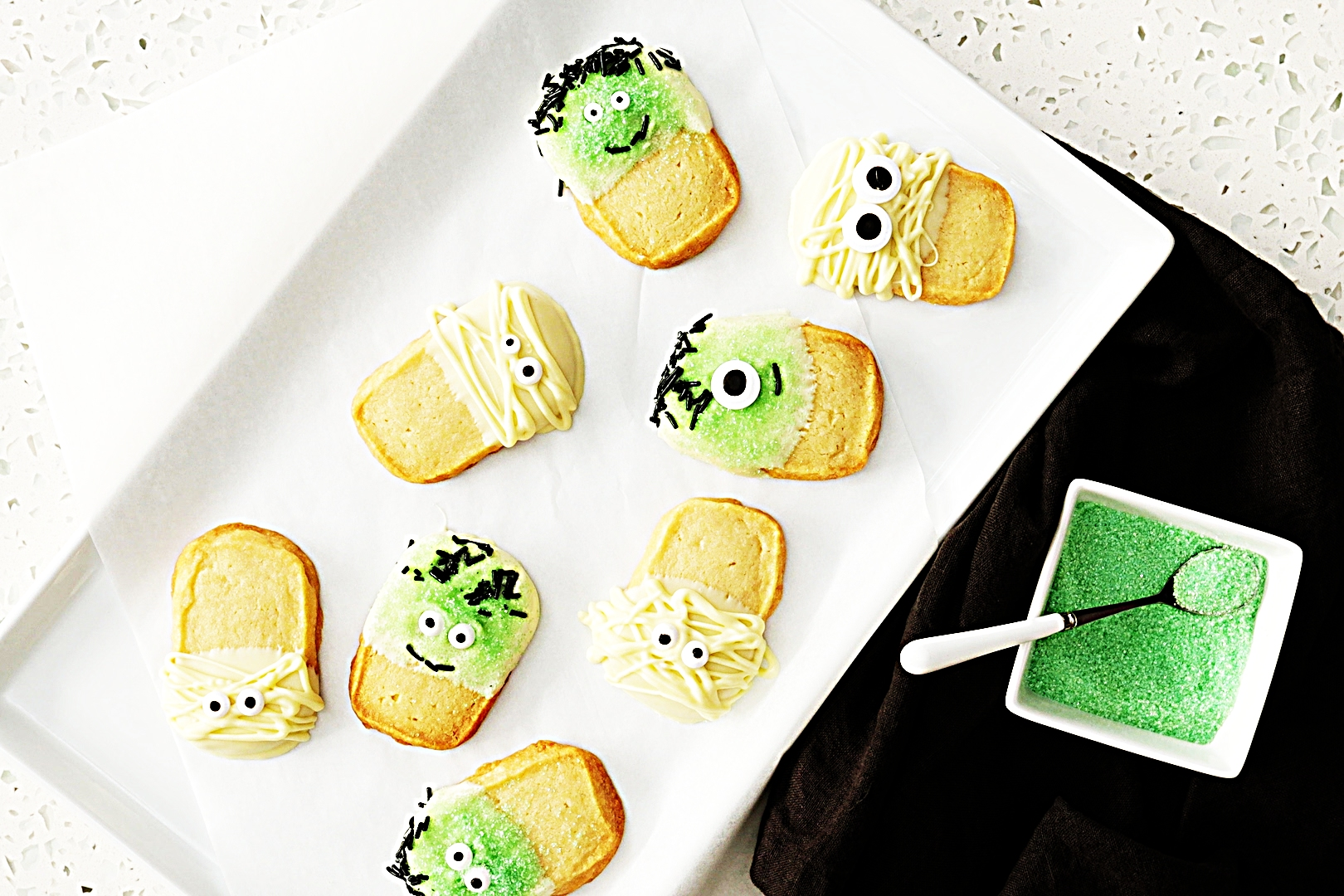 Stupid-Easy Recipe for Easy Slice and Bake Halloween Creature Cookies (#1 Top-Rated)