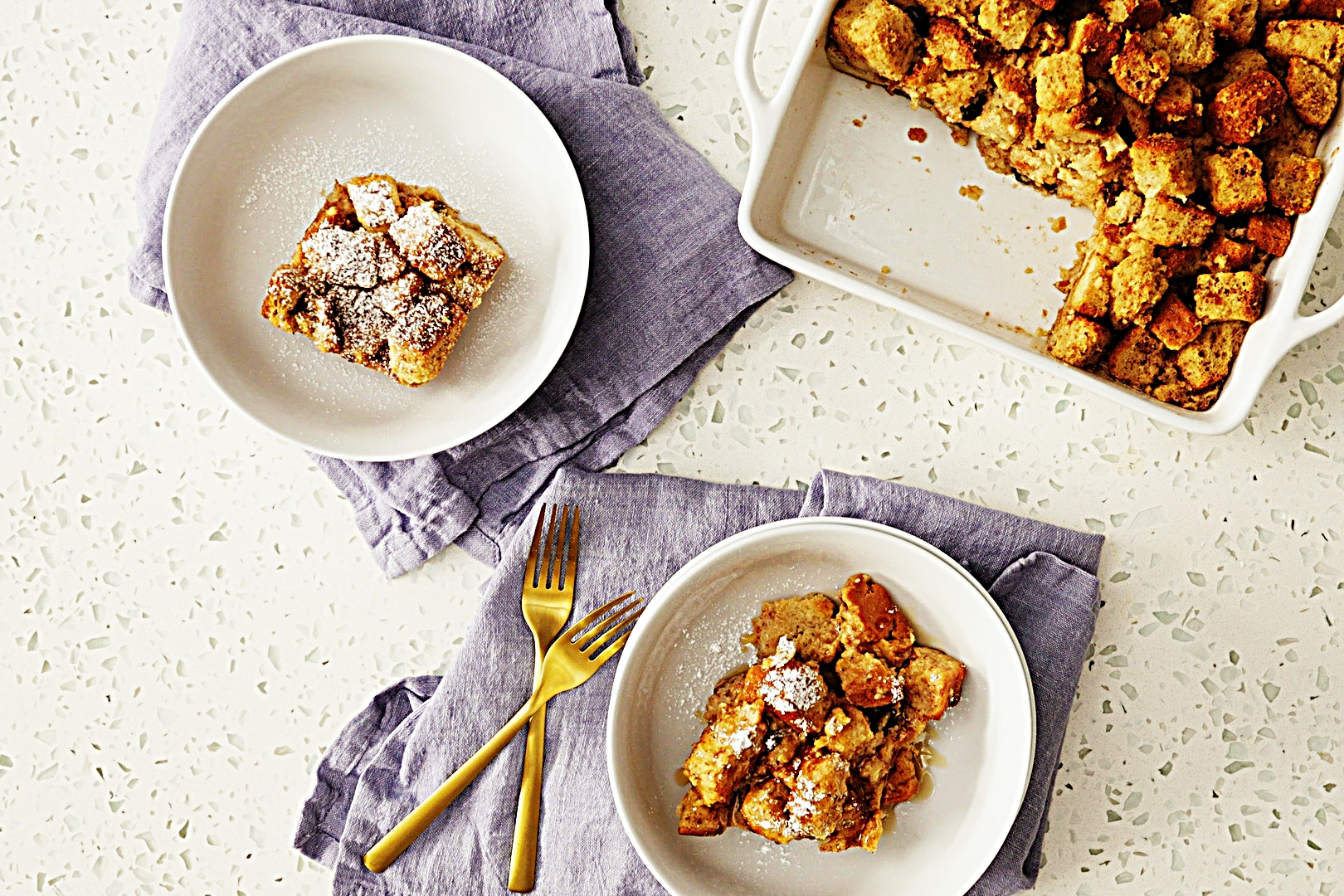 Stupid-Easy Recipe for Gluten-Free Bread Pudding (#1 Top-Rated)