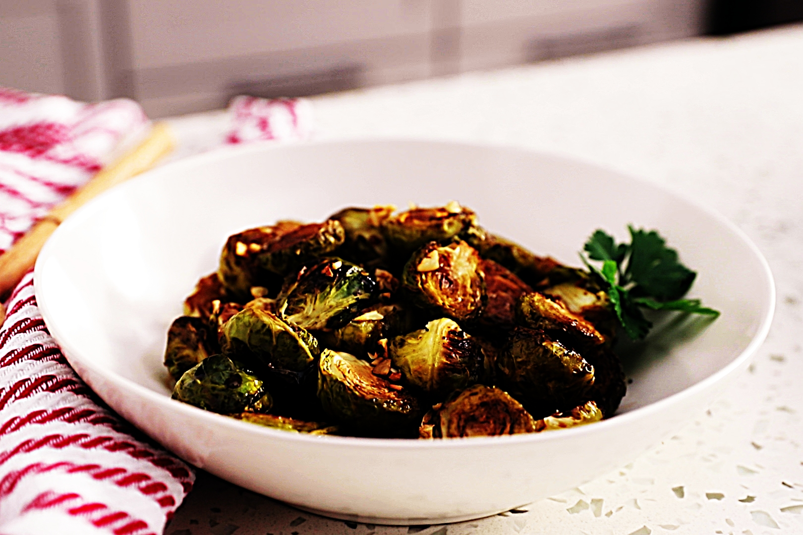 Stupid-Easy Recipe for Honey Balsamic Glazed Brussels Sprouts (#1 Top-Rated)