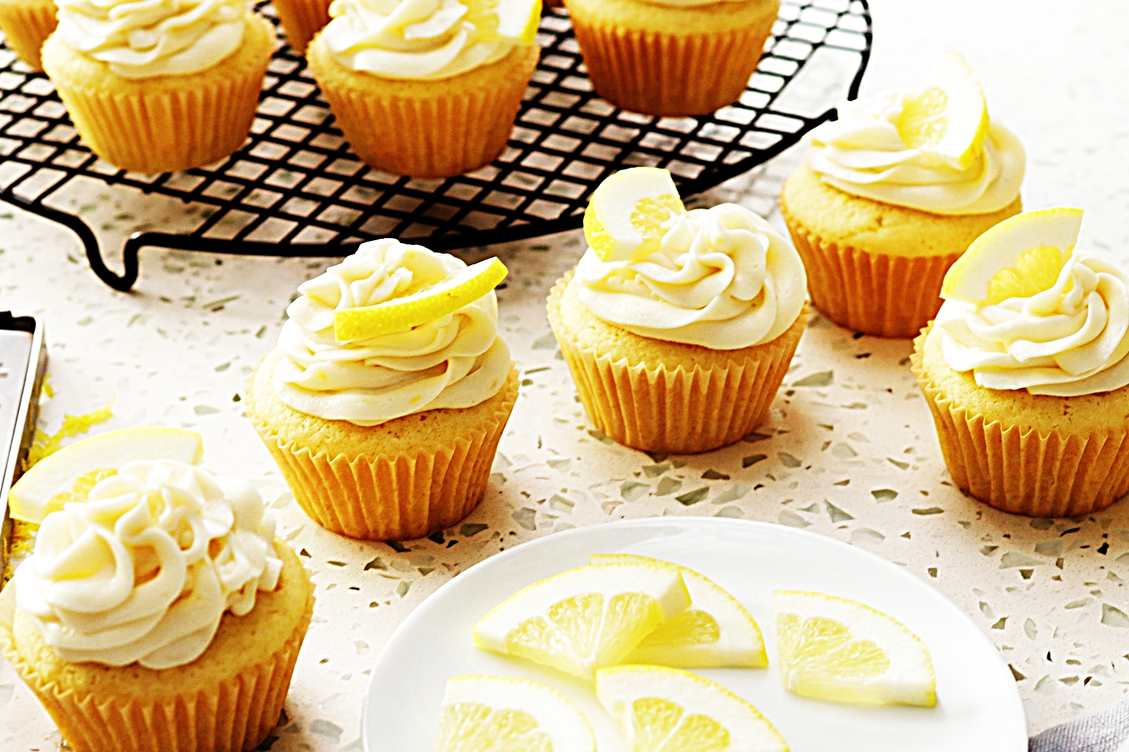 Stupid-Easy Recipe for Lemon Cupcakes with Lemon Buttercream (#1 Top-Rated)