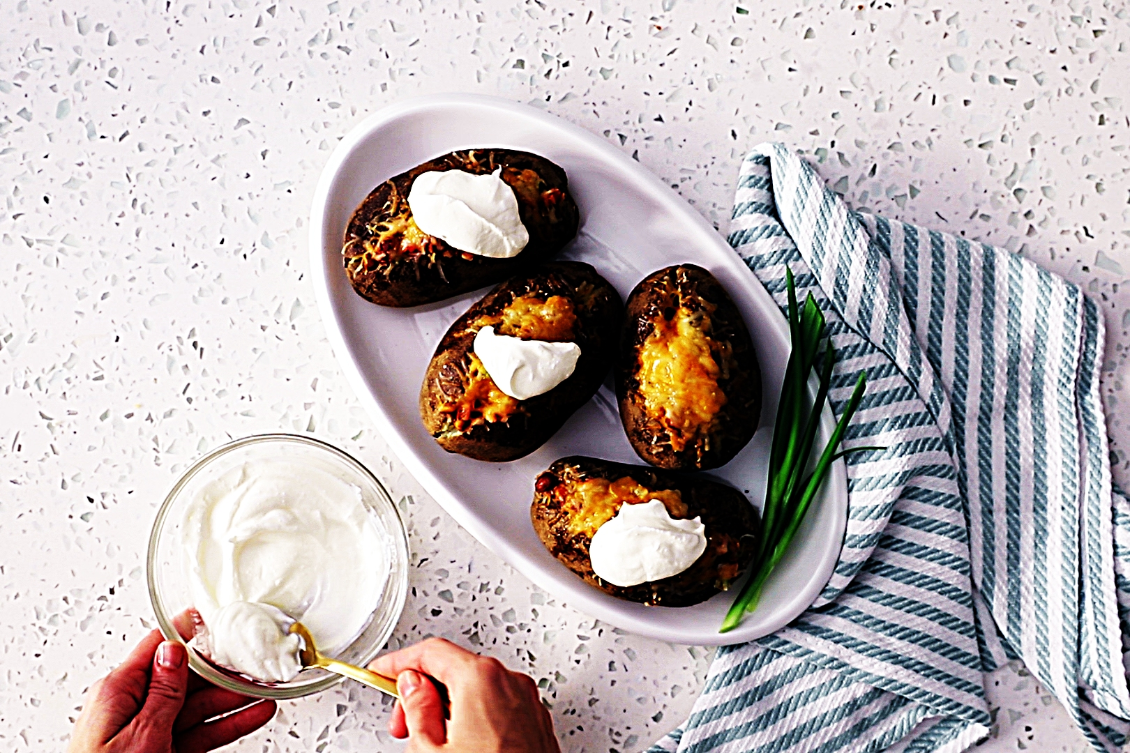 Stupid-Easy Recipe for Loaded Chili Baked Potatoes (#1 Top-Rated)