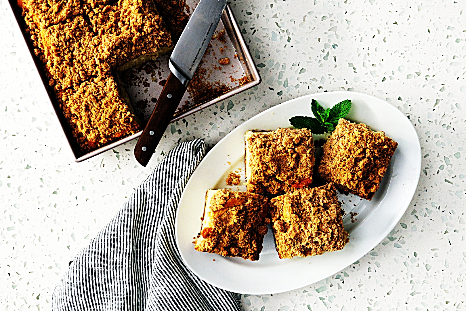 Stupid-Easy Recipe for New York Crumb Cake (#1 Top-Rated)