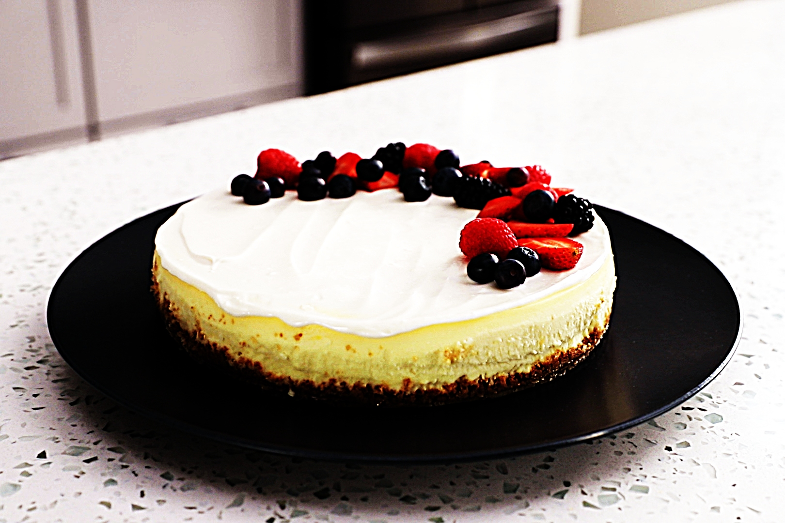 Stupid-Easy Recipe for New York-Style Cheesecake (Without Sour Cream) (#1 Top-Rated)