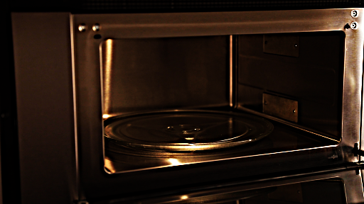 Photo made during Microwave process