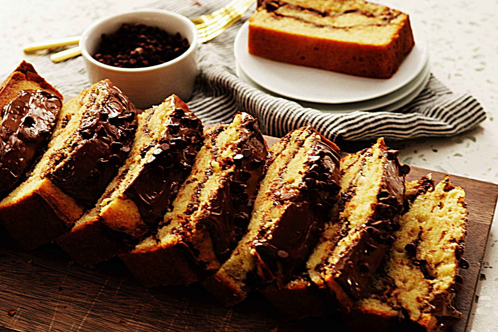 Stupid-Easy Recipe for Nutella Swirl Pound Cake (#1 Top-Rated)