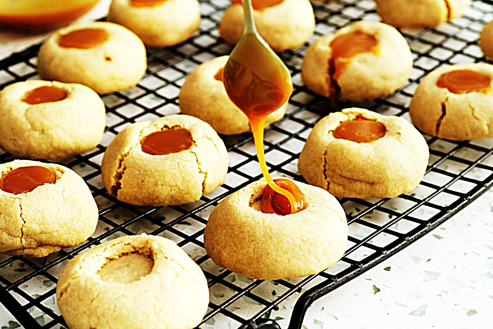 Stupid-Easy Recipe for Salted Caramel Thumbprint Cookies (#1 Top-Rated)